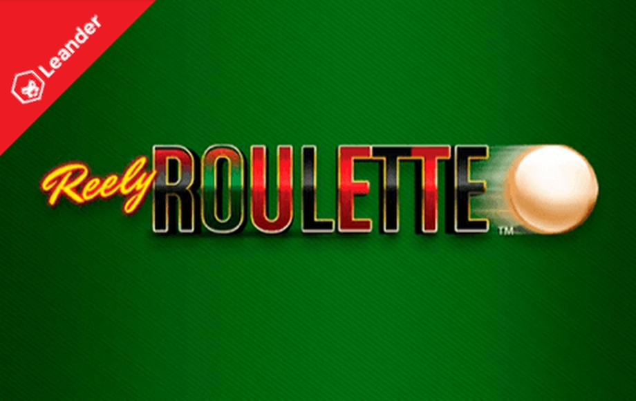 Reels in Reely Roulette Slot Game by Leander Games