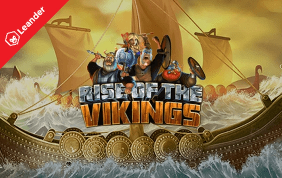 The Rise Of The Vikings Online Slot Demo Game by Leander Games