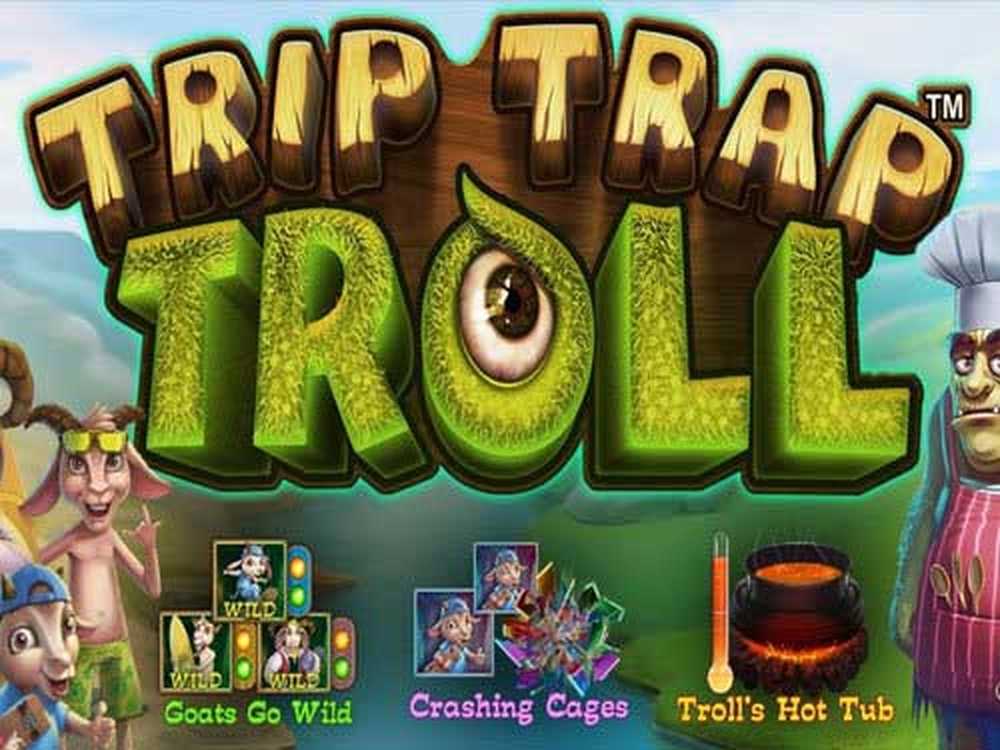 The Trip Trap Troll Online Slot Demo Game by Leander Games