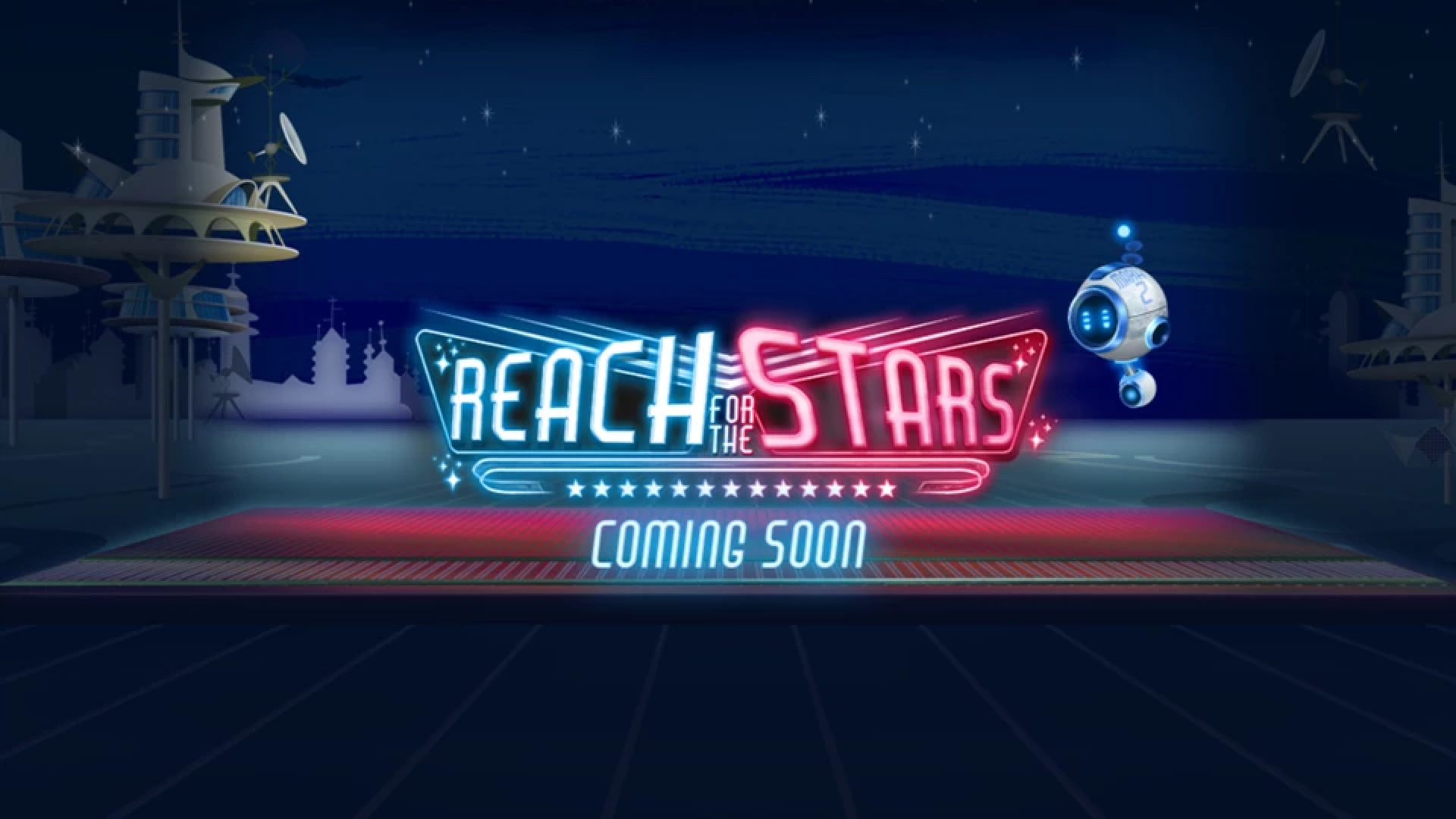 The Reach for the Stars Online Slot Demo Game by Live 5 Gaming