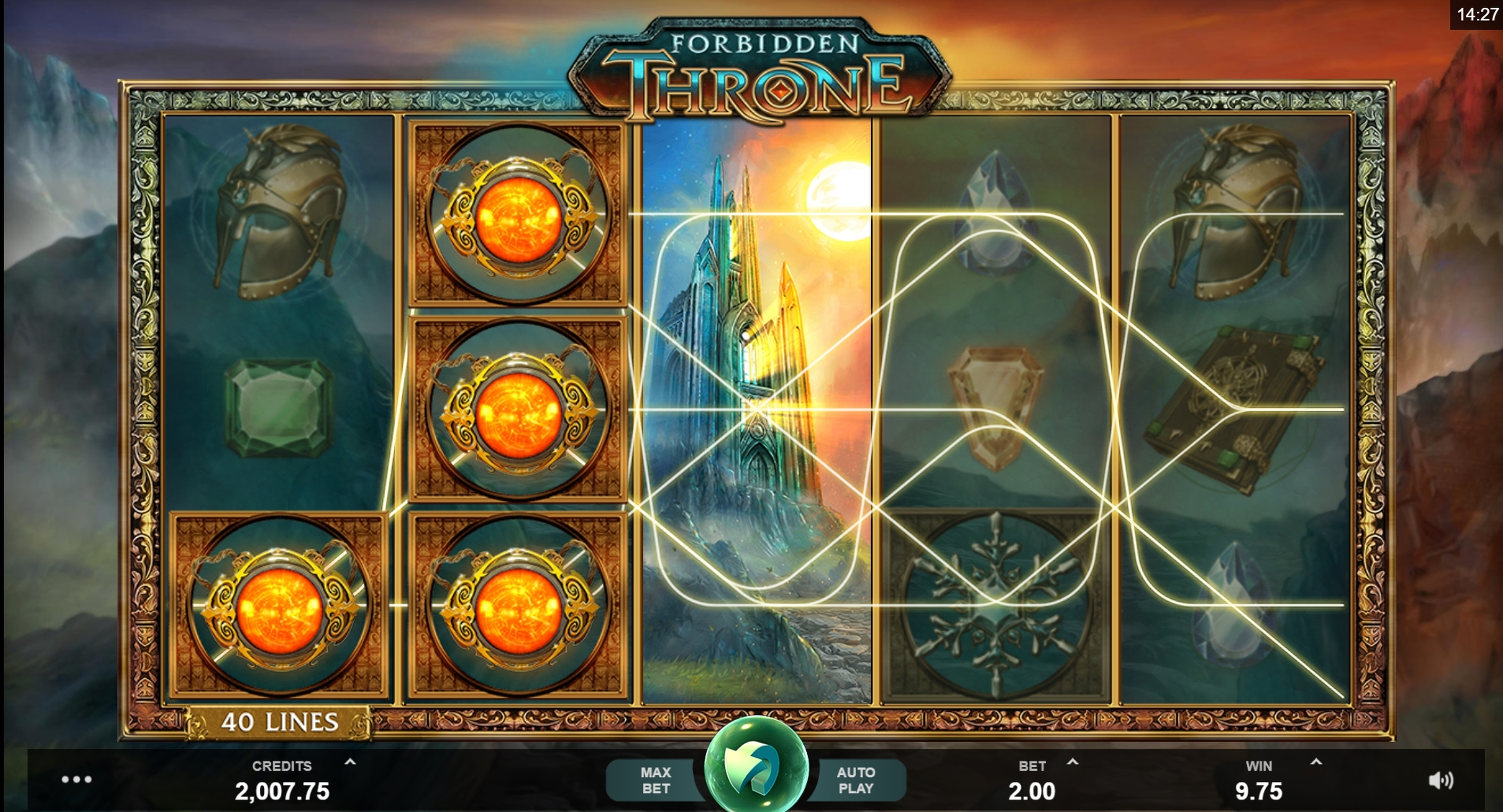 Win Money in Forbidden Throne Free Slot Game by MahiGaming