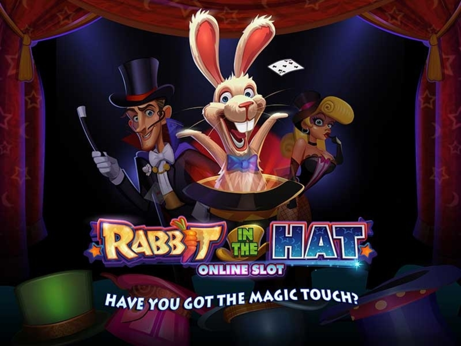 The Rabbit In The Hat Online Slot Demo Game by Microgaming