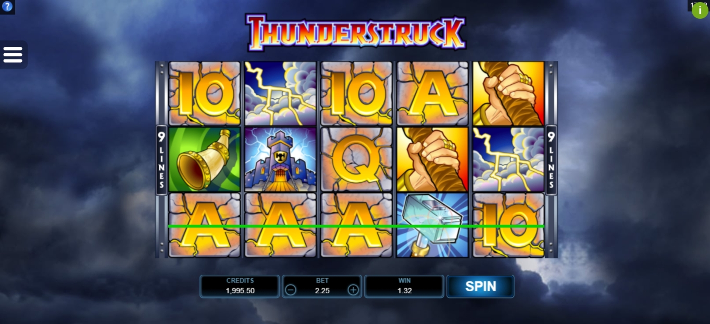 Win Money in Thunderstruck Free Slot Game by Microgaming