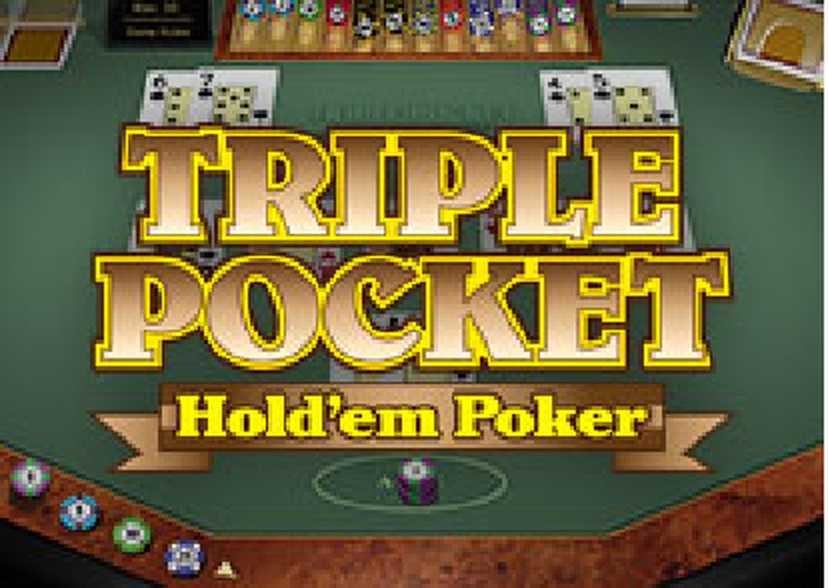 The Triple Pocket Hold'em Poker (Microgaming) Online Slot Demo Game by Microgaming