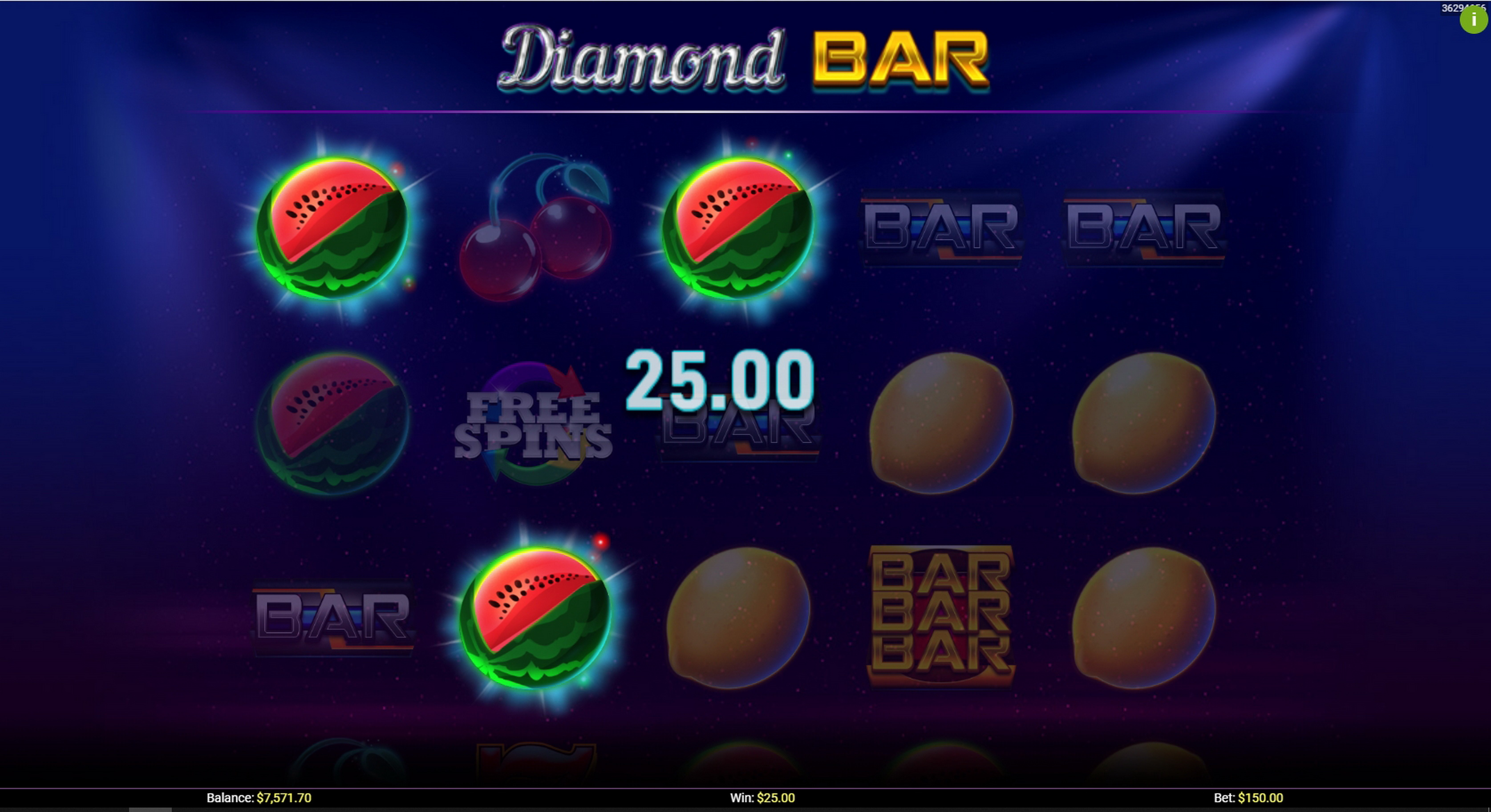 Win Money in Diamond Bar Free Slot Game by Mobilots