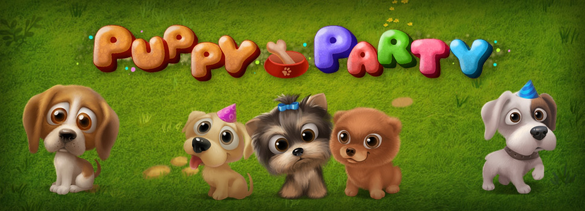 The Puppy Party Online Slot Demo Game by Mobilots