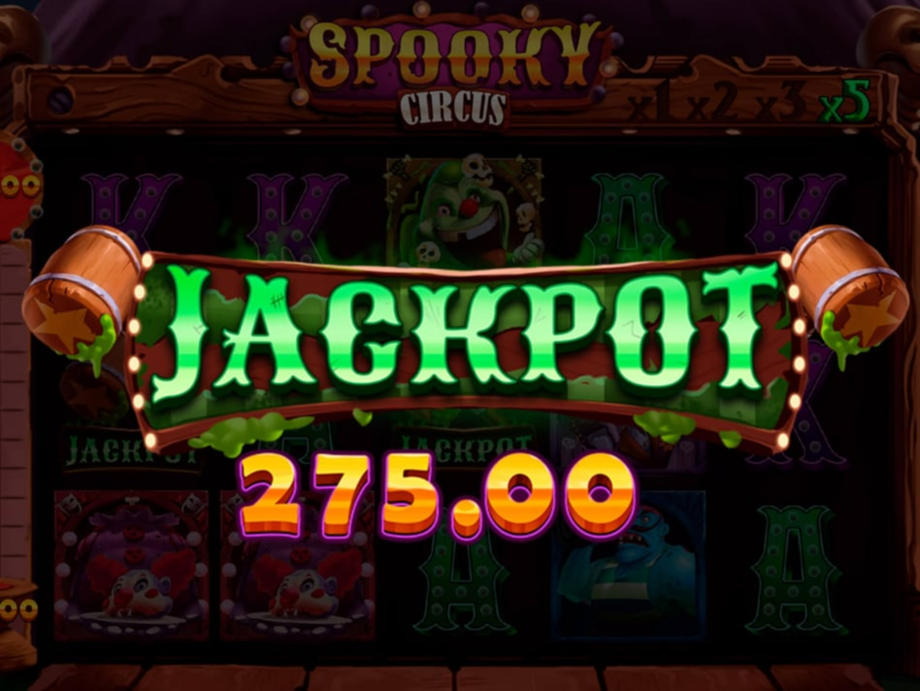 The Spooky Circus Online Slot Demo Game by Mobilots
