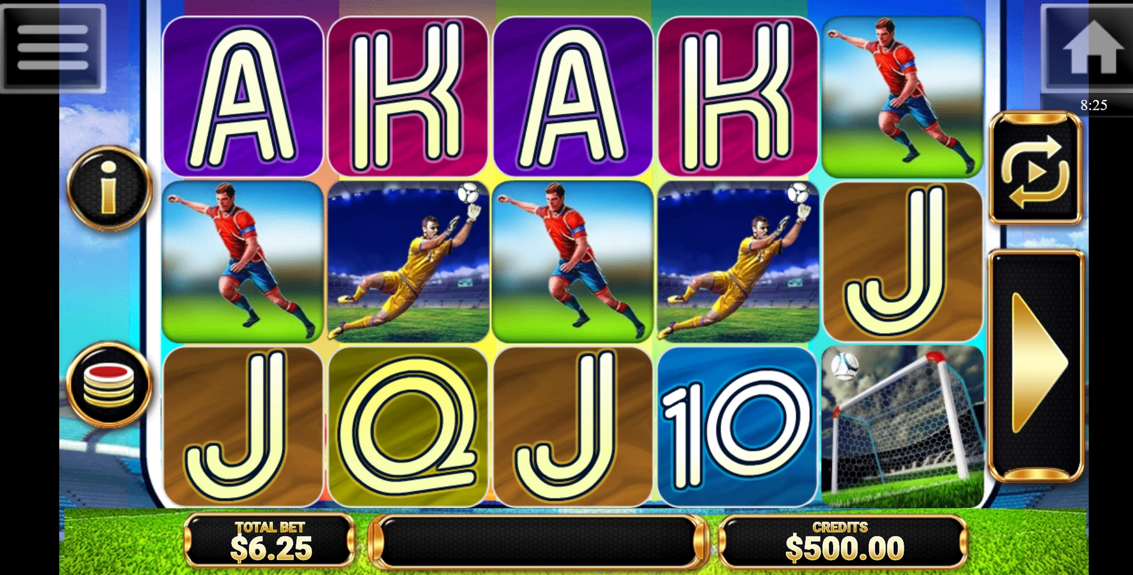 Reels in Goool!! Slot Game by Multislot