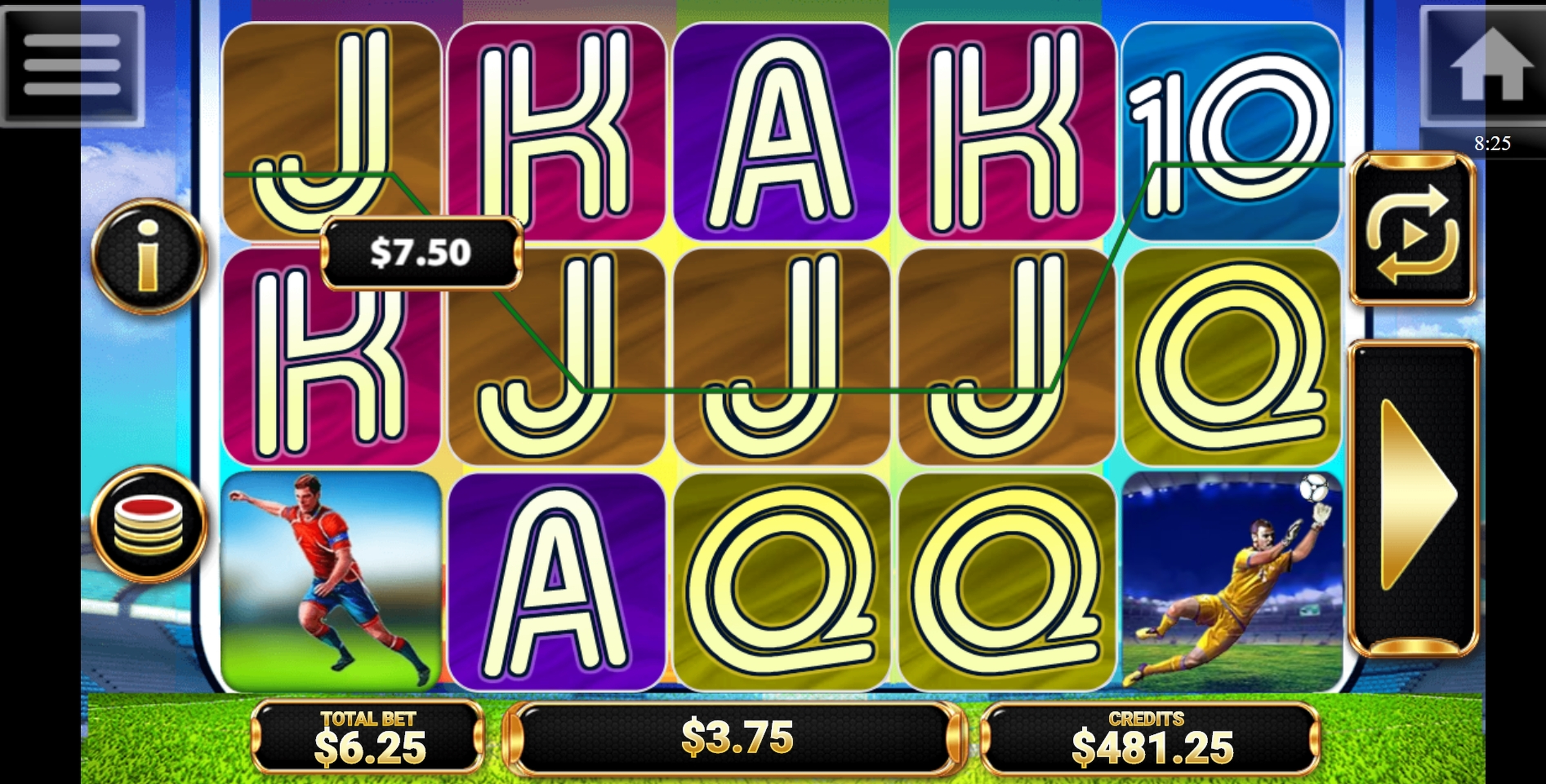 Win Money in Goool!! Free Slot Game by Multislot