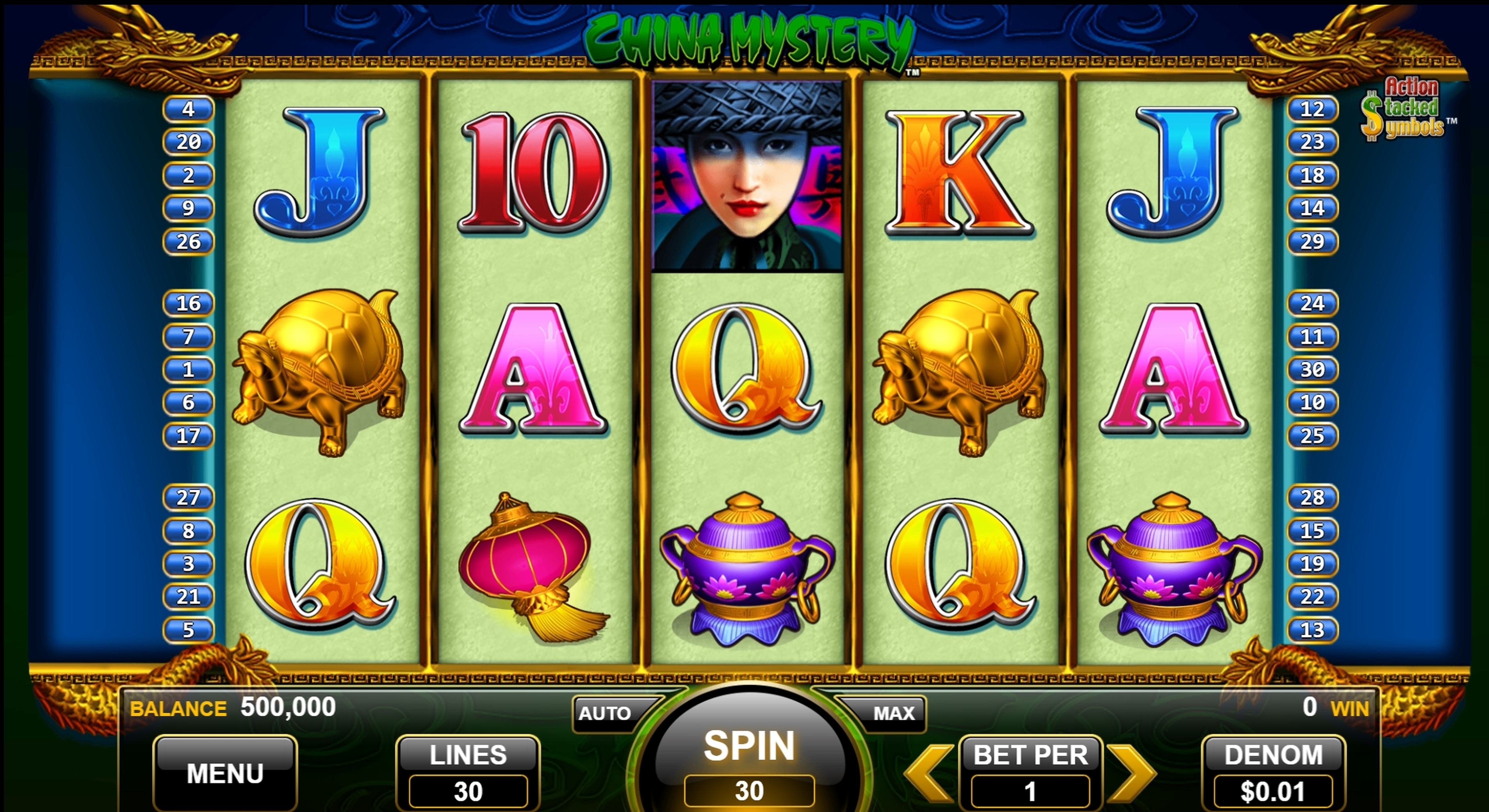 Reels in China Mystery Slot Game by Nektan