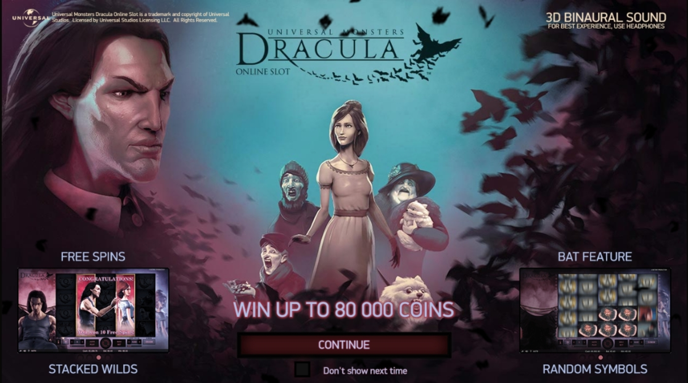 Play Dracula (NetEnt) Free Casino Slot Game by NetEnt