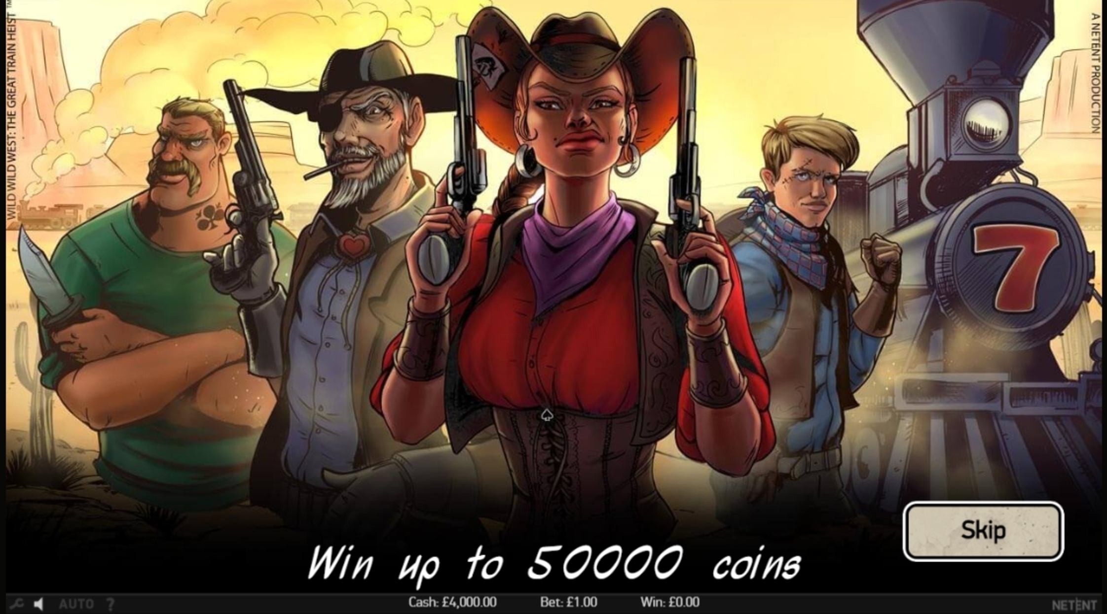 Play Wild Wild West Free Casino Slot Game by NetEnt