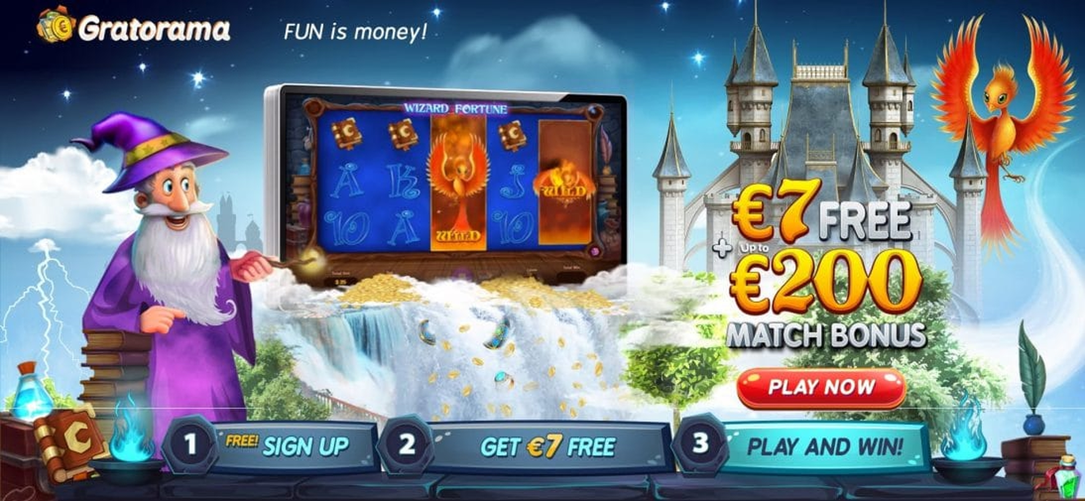 The Wizard Fortune Online Slot Demo Game by Netoplay