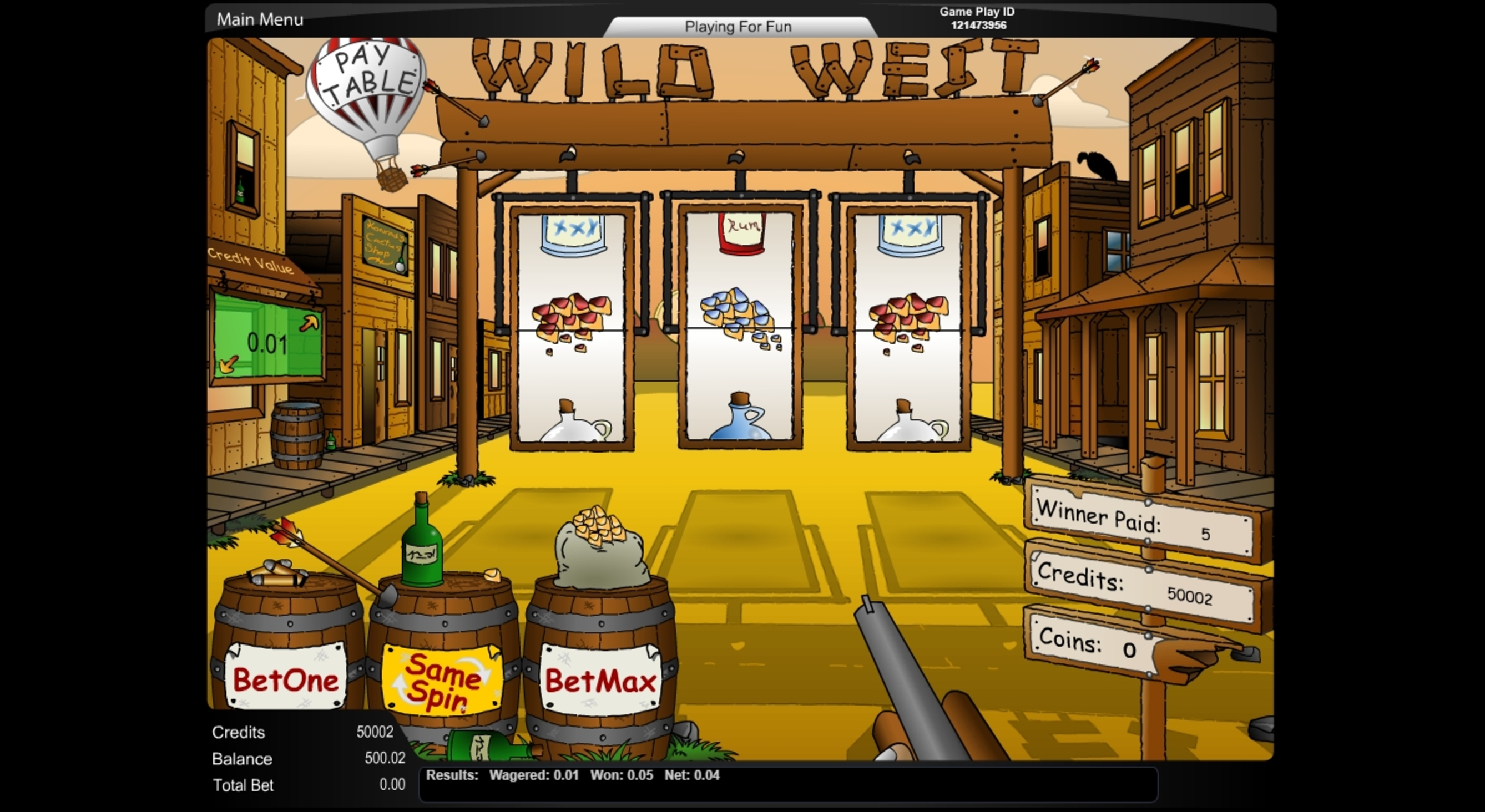 Win Money in Wild West (NextGen) Free Slot Game by NextGen