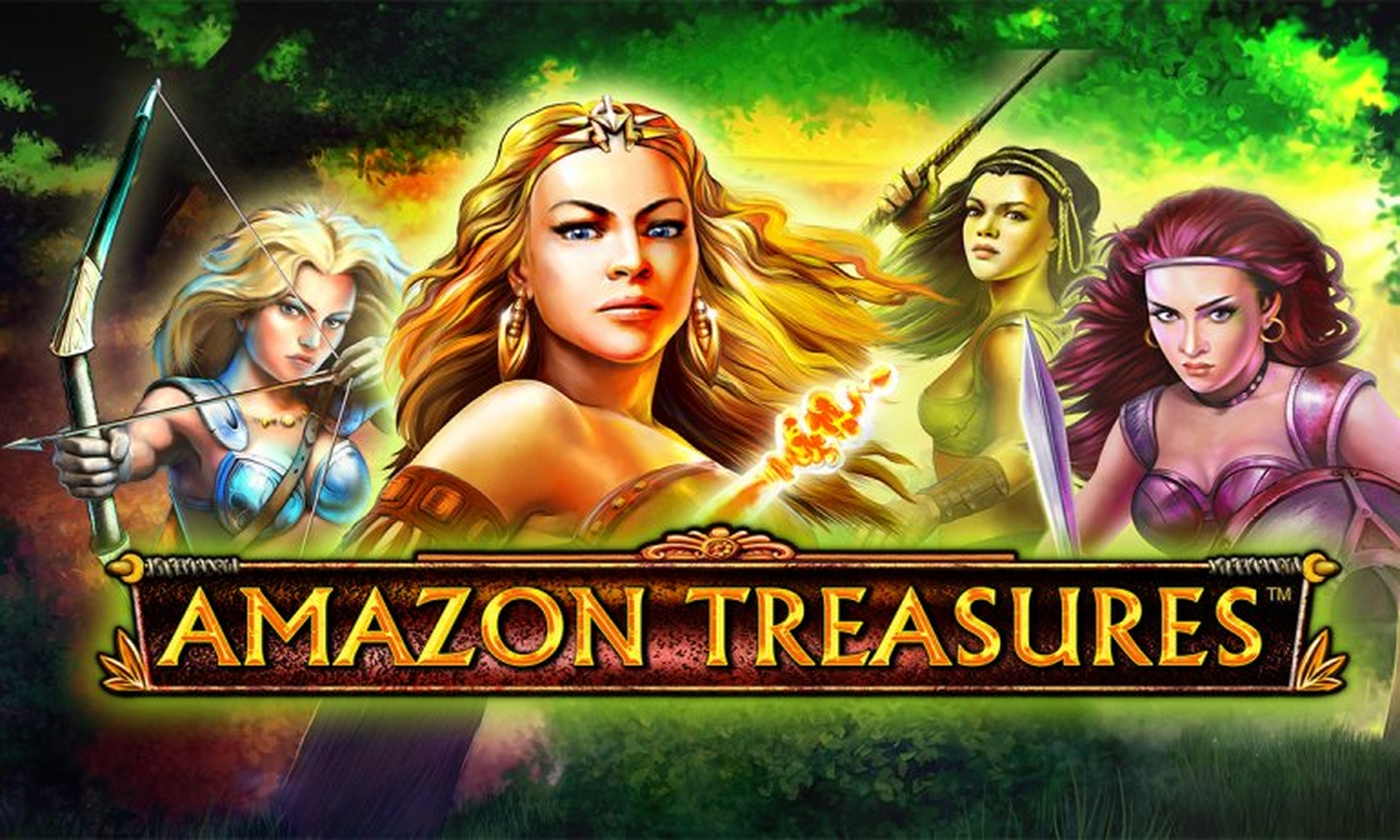 The Amazon Treasures Deluxe Online Slot Demo Game by Novomatic