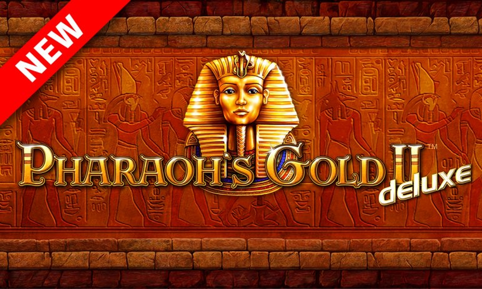 The Pharaohs Gold 2 Deluxe Online Slot Demo Game by Novomatic