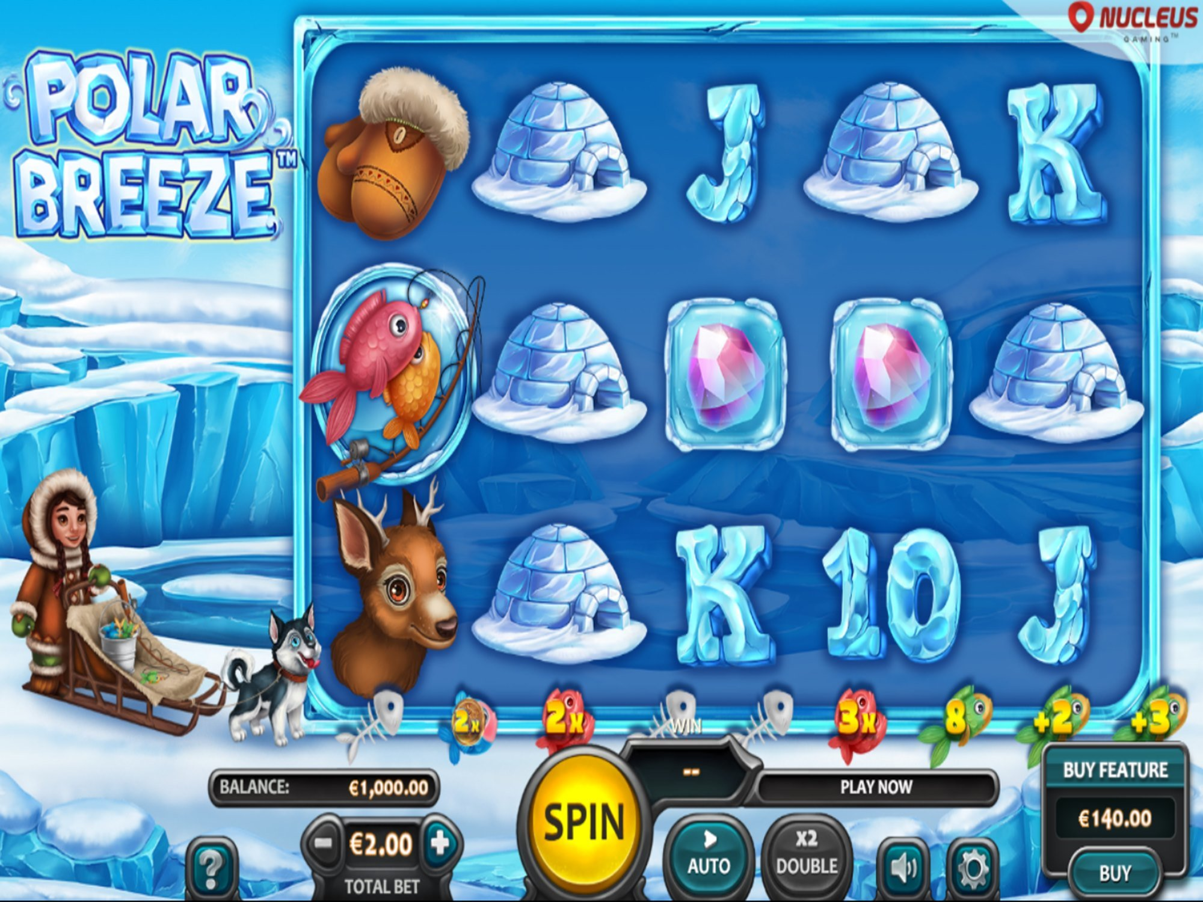 The Polar Breeze Online Slot Demo Game by Nucleus Gaming