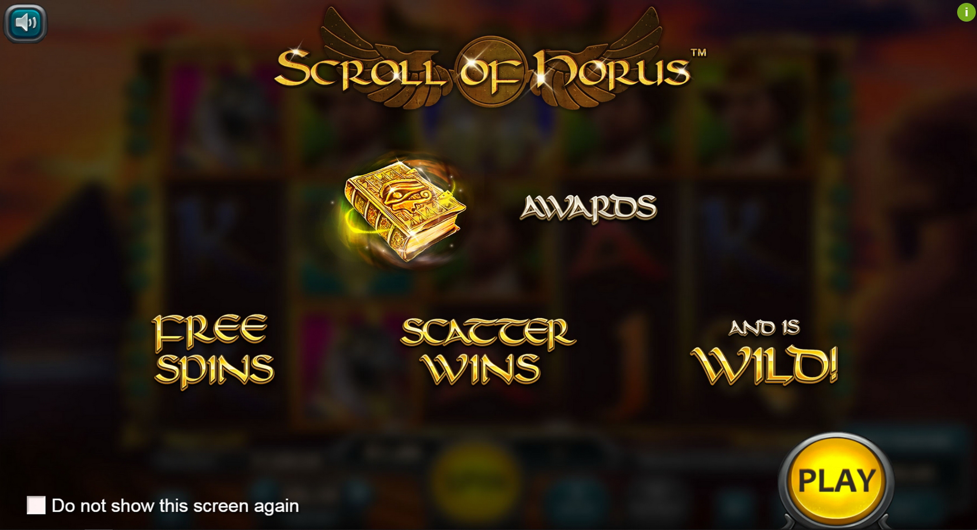 Play Scroll of Horus Free Casino Slot Game by Nucleus Gaming