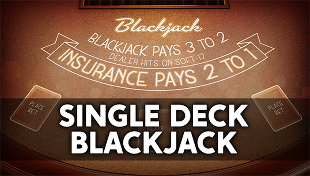 The Single Deck Blackjack (Nucleus Gaming) Online Slot Demo Game by Nucleus Gaming