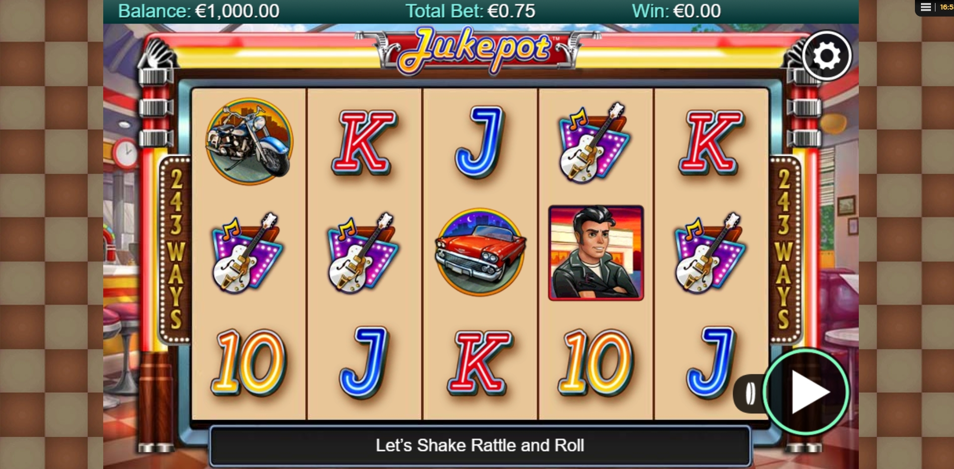 Reels in Jukepot Slot Game by NYX Gaming Group