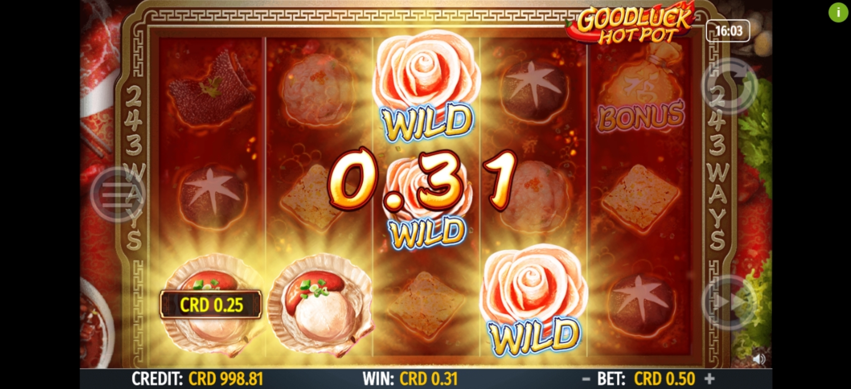 Win Money in Goodluck Hot Pot Free Slot Game by Octavian Gaming