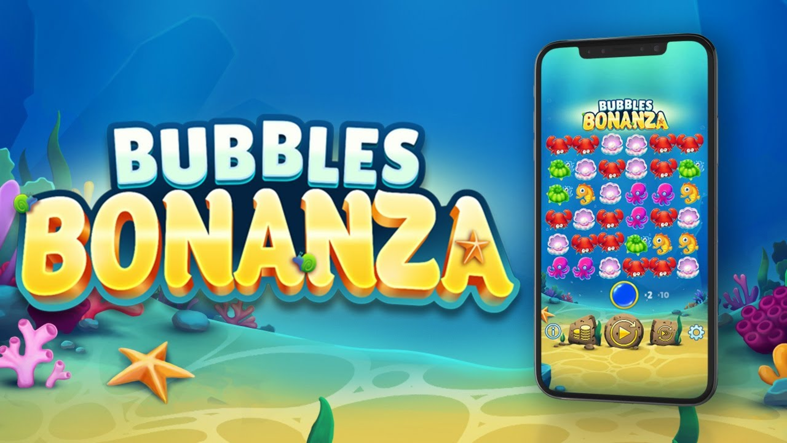 The Bubbles Bonanza Online Slot Demo Game by OneTouch