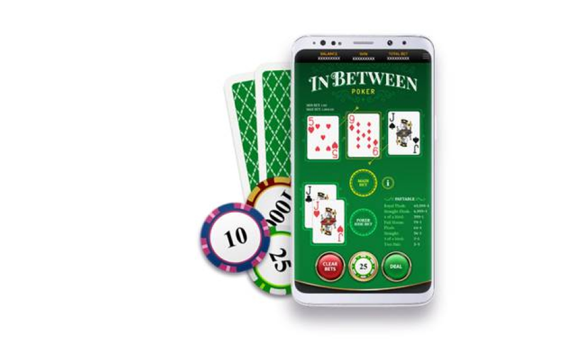 The In Between Poker Online Slot Demo Game by OneTouch