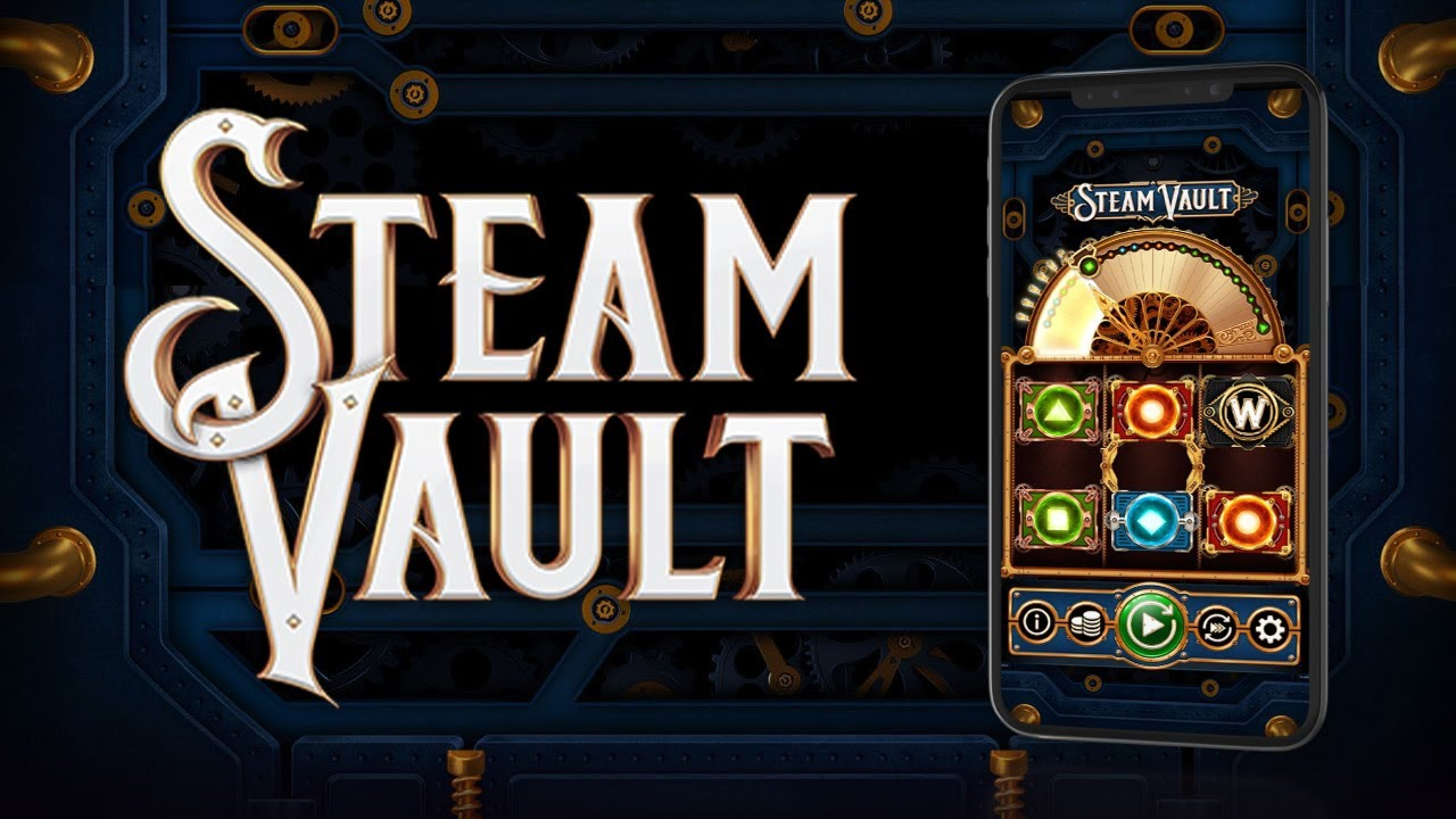 The Steam Vault Online Slot Demo Game by OneTouch