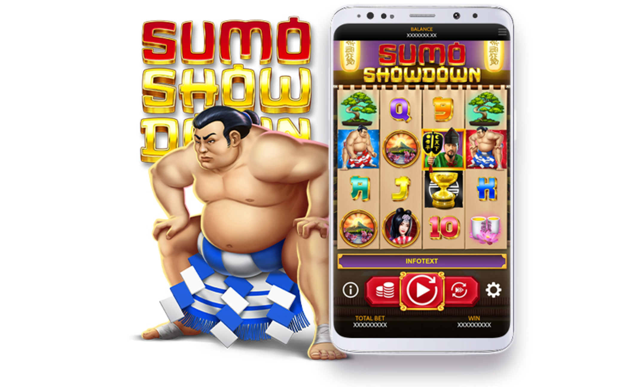 The Sumo Showdown Online Slot Demo Game by OneTouch