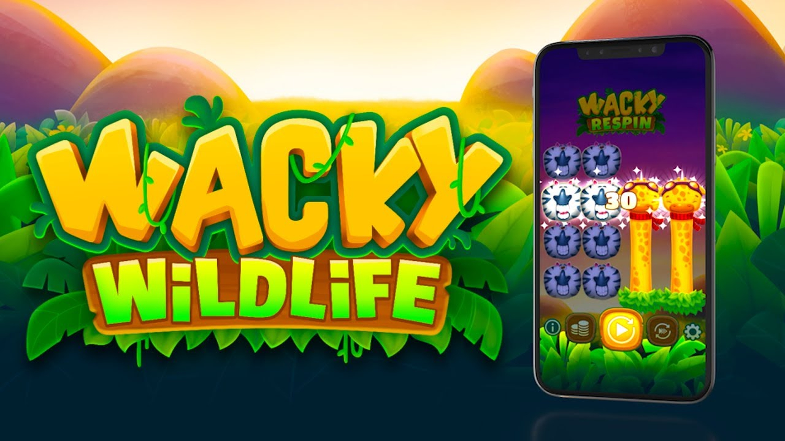 The Wacky Wildlife Online Slot Demo Game by OneTouch Games