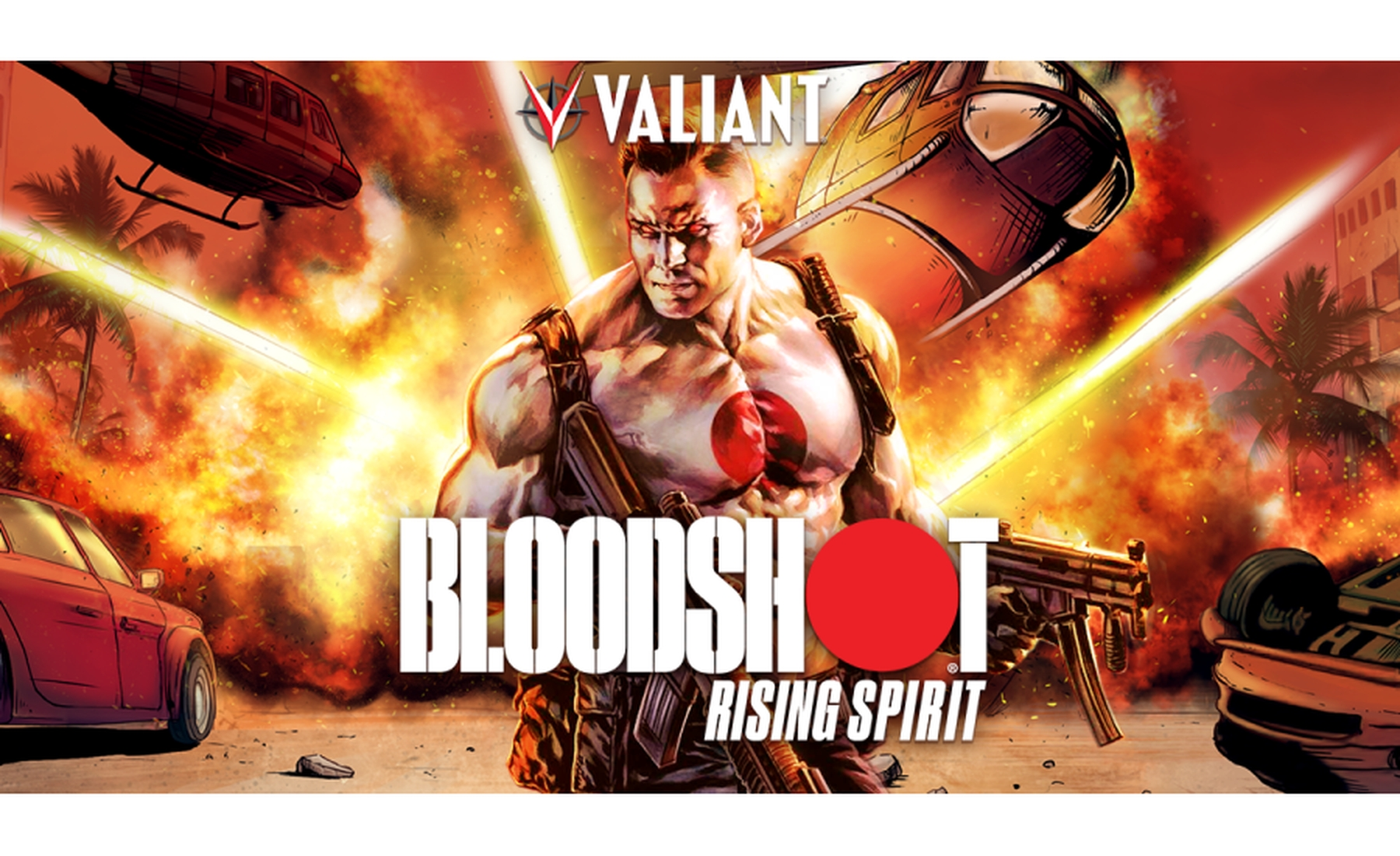 The BloodShot Online Slot Demo Game by PariPlay