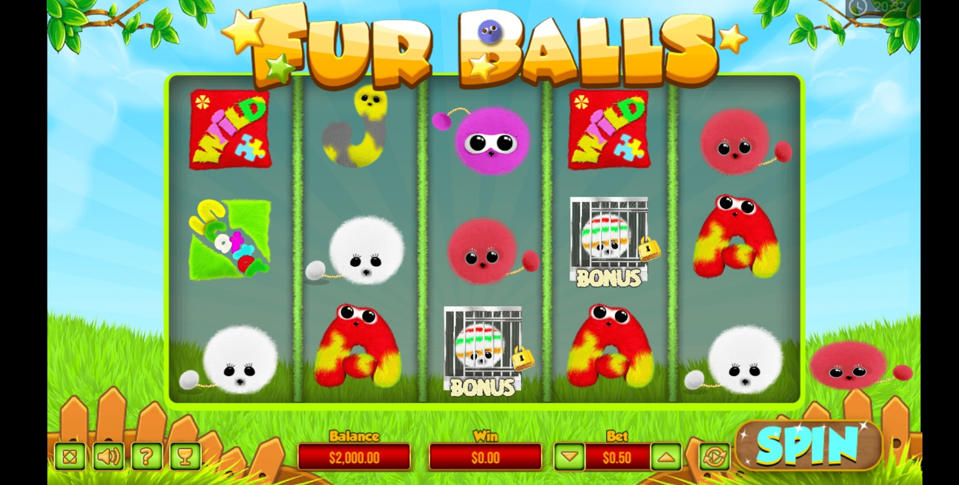 Reels in Fur Balls Slot Game by PariPlay