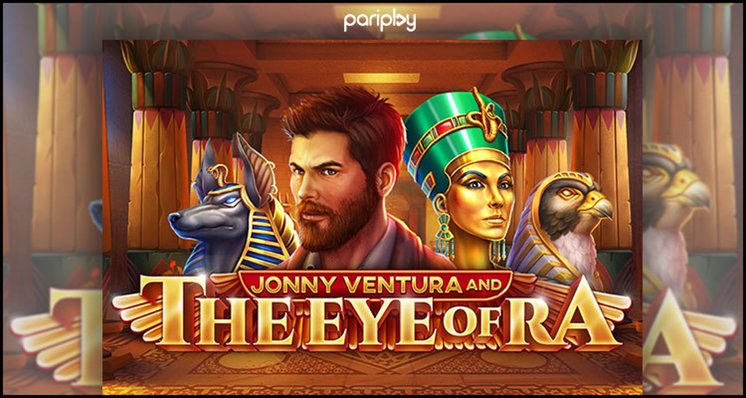 The Jonny Ventura and The Eye of Ra Online Slot Demo Game by PariPlay