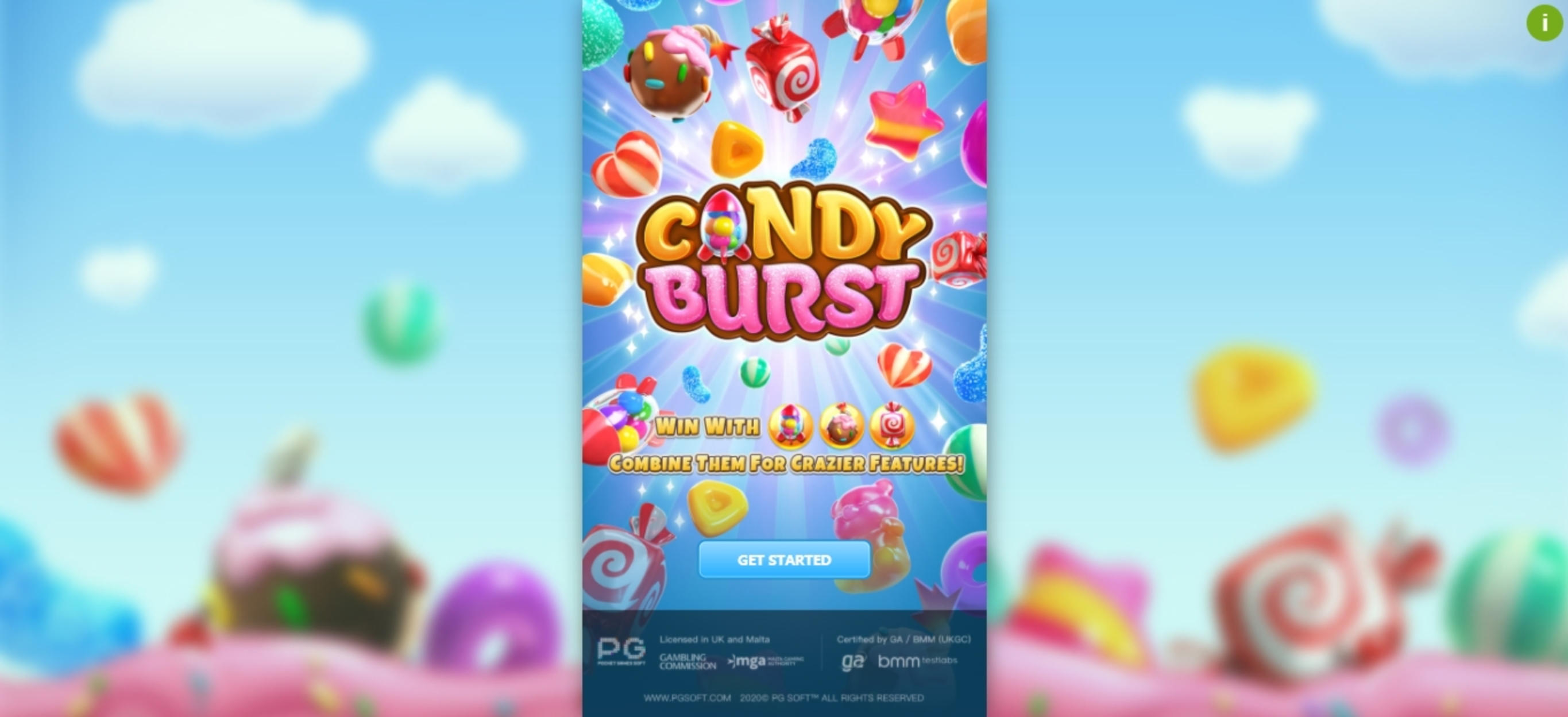 Play Candy Burst (PG Soft) Free Casino Slot Game by PG Soft