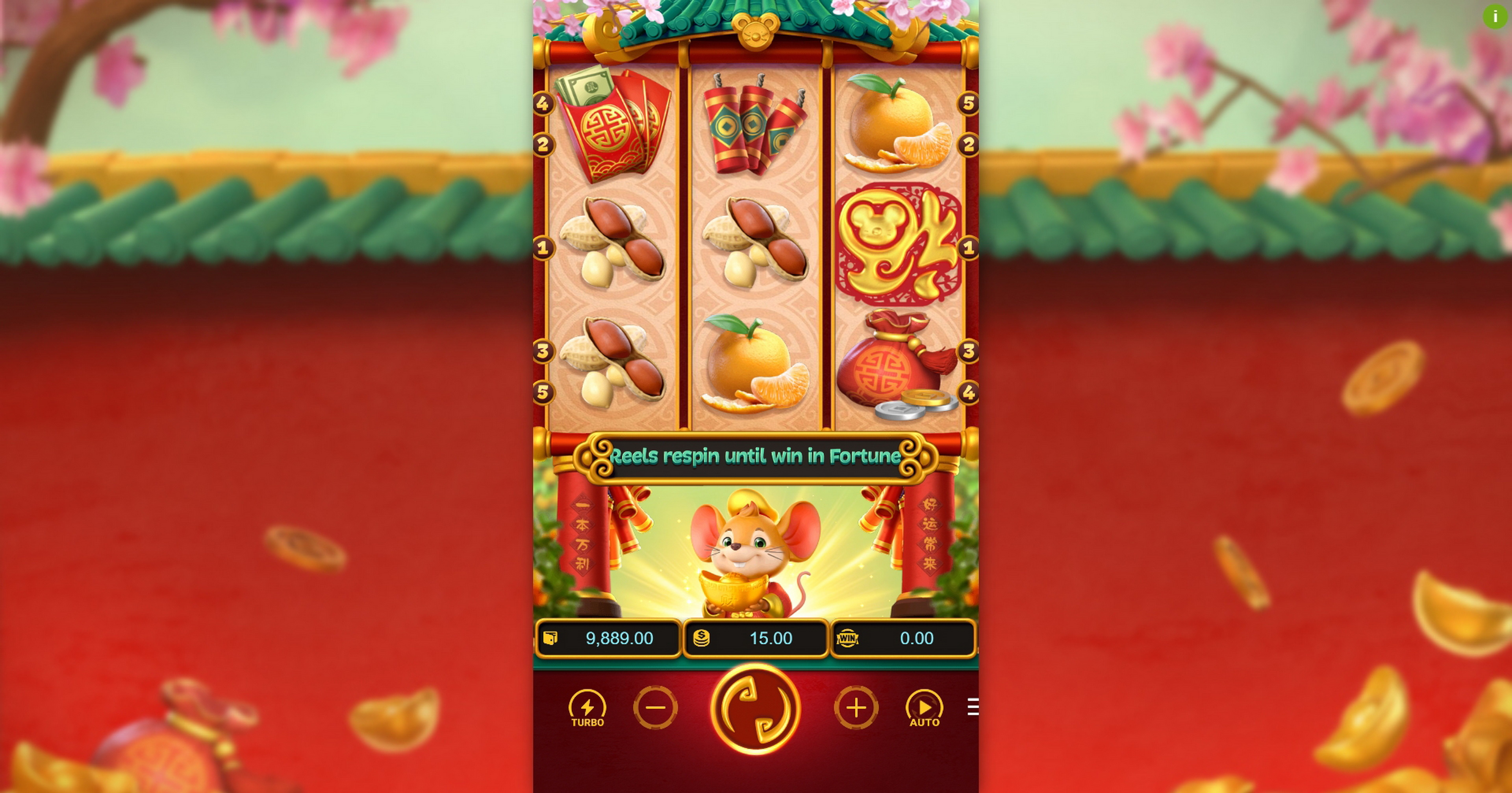 Reels in Fortune Mouse Slot Game by PG Soft