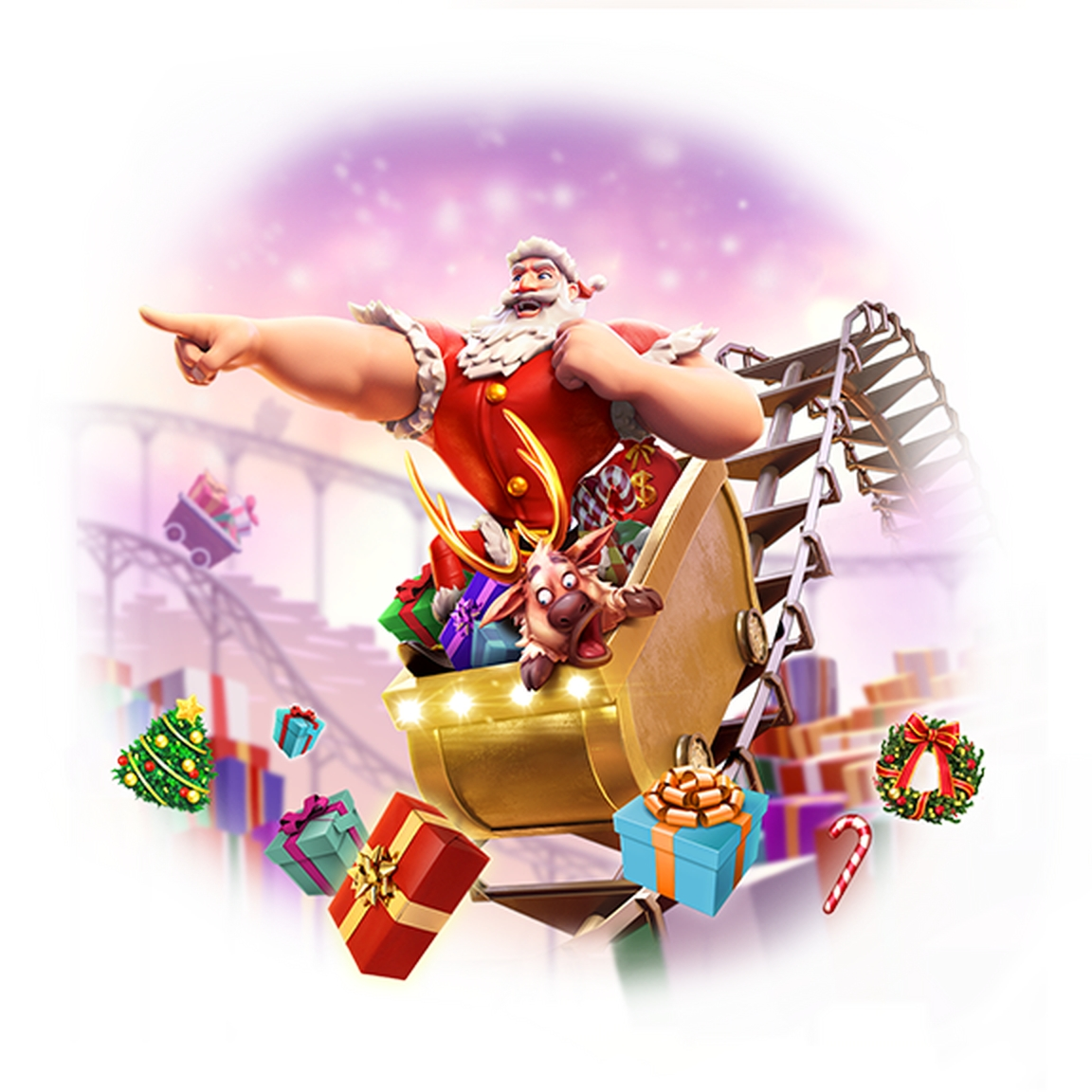 The Santa's Gift Rush Online Slot Demo Game by PG Soft