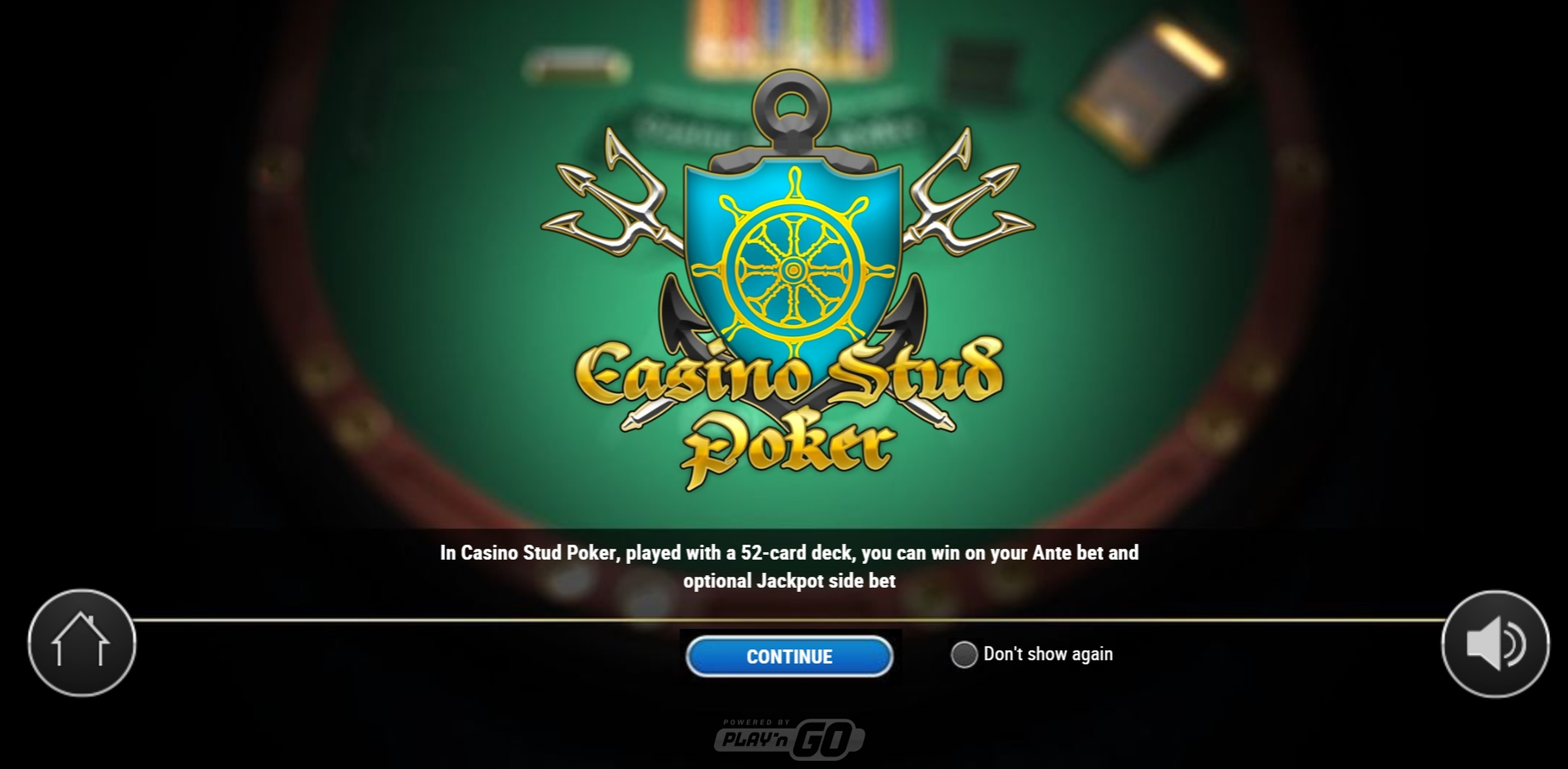 Play Casino Stud Poker (Play'n Go) Free Casino Slot Game by Playn GO