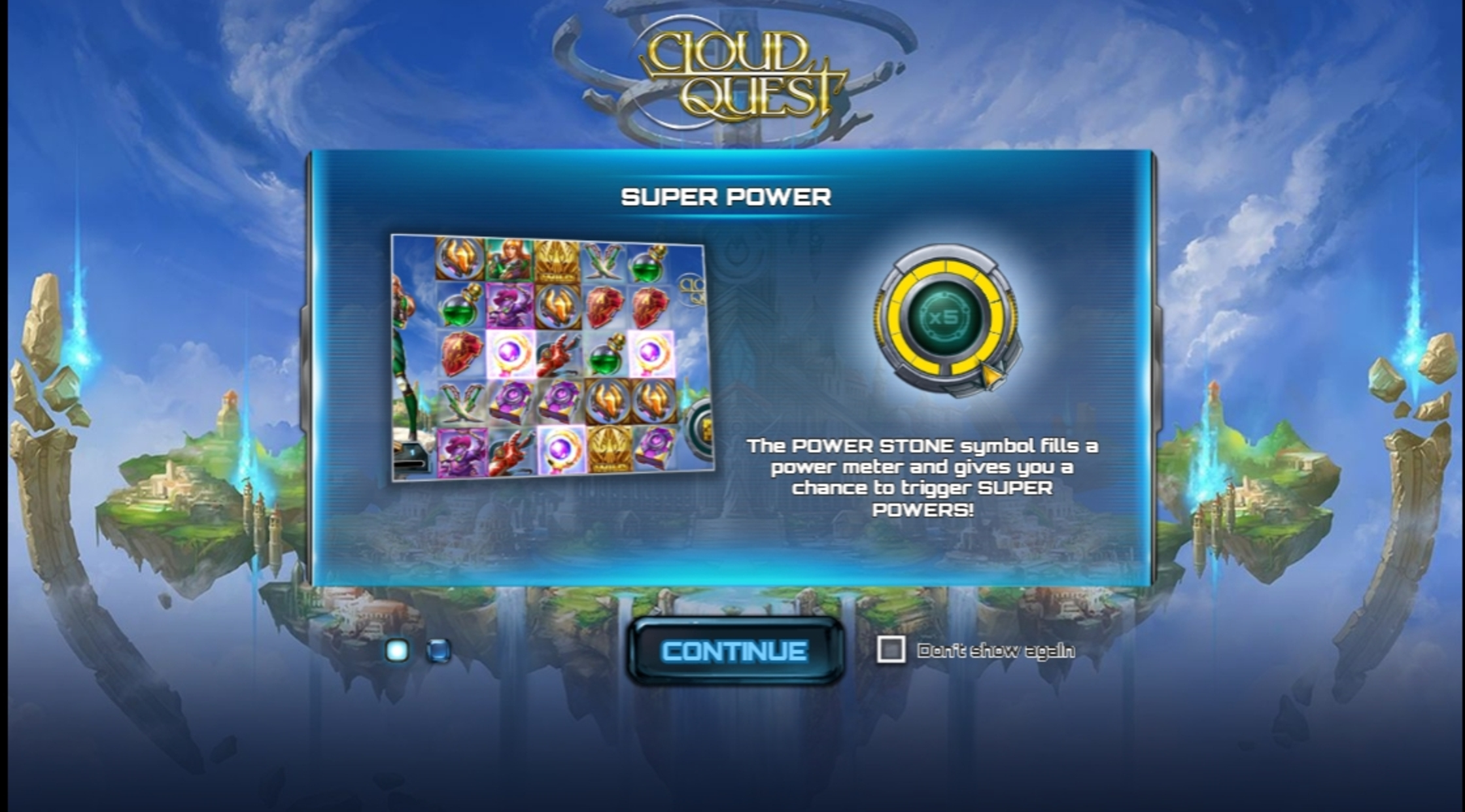 Play Cloud Quest Free Casino Slot Game by Play'n Go