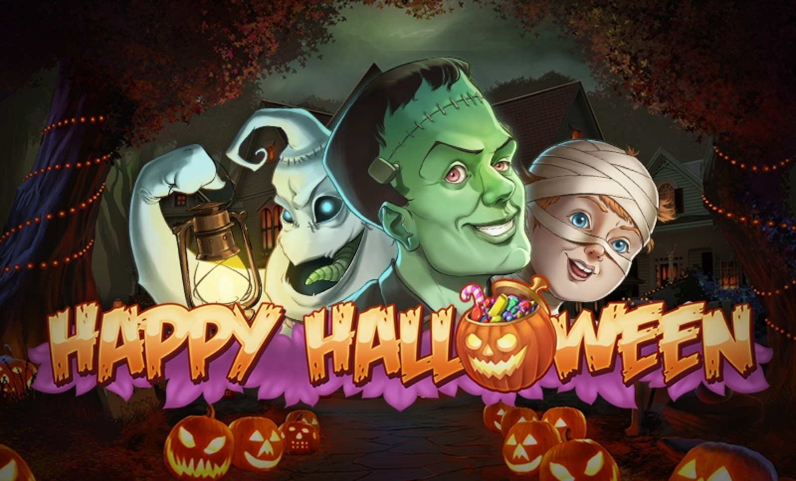 The Happy Halloween Online Slot Demo Game by Playn GO