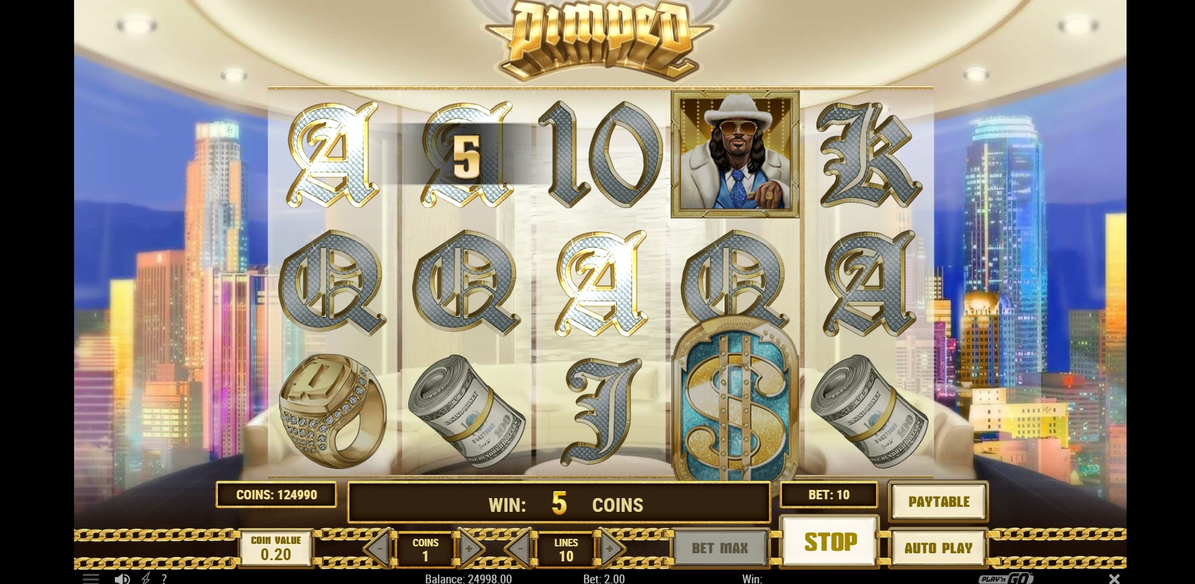 Win Money in Pimped Free Slot Game by Playn GO