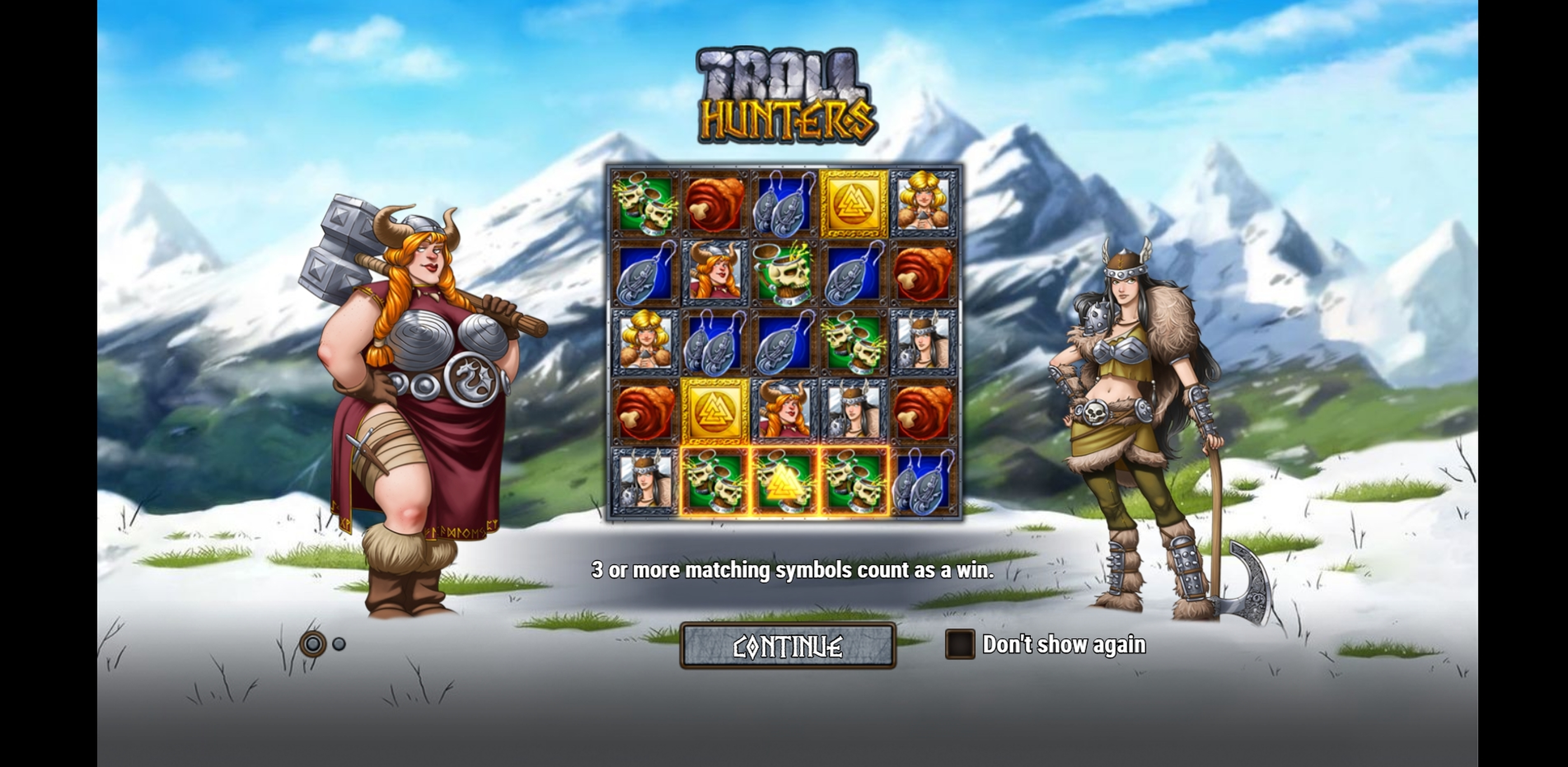 Play Troll Hunters Free Casino Slot Game by Play'n Go
