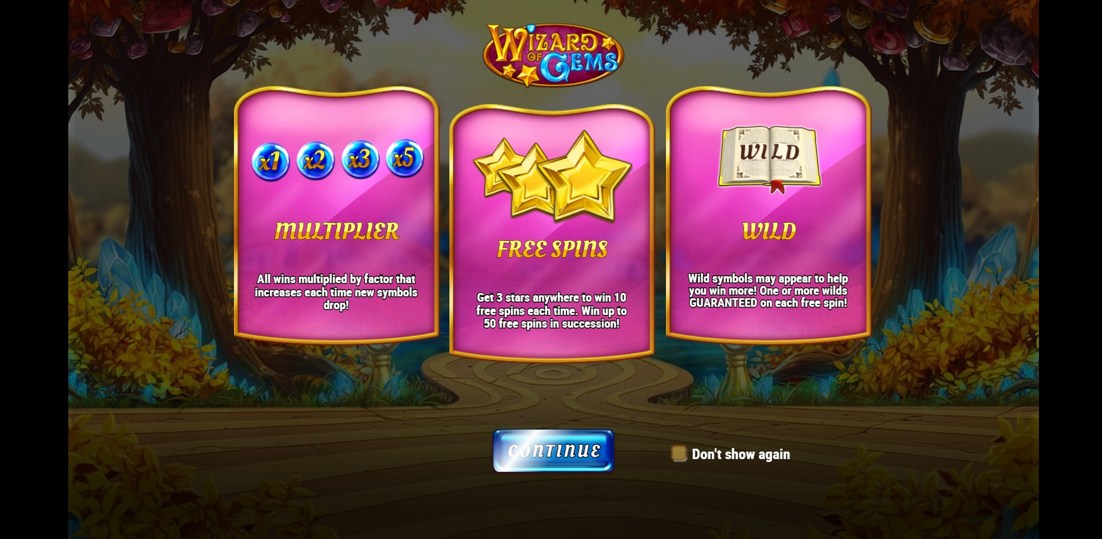 Play Wizard of Gems Free Casino Slot Game by Play'n Go