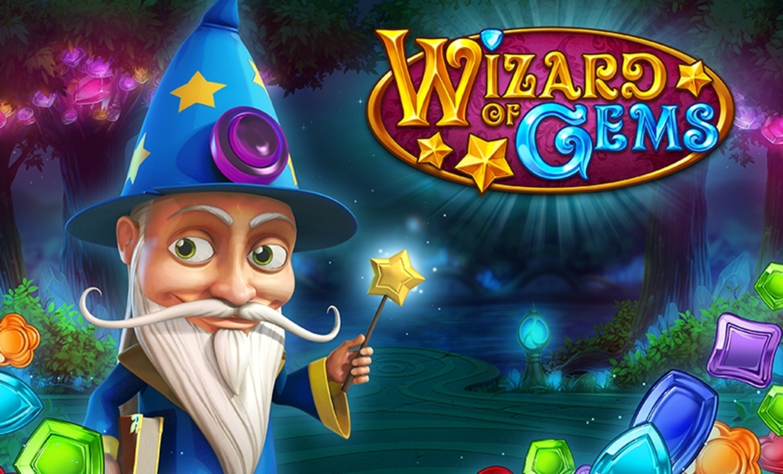 The Wizard of Gems Online Slot Demo Game by Play'n Go