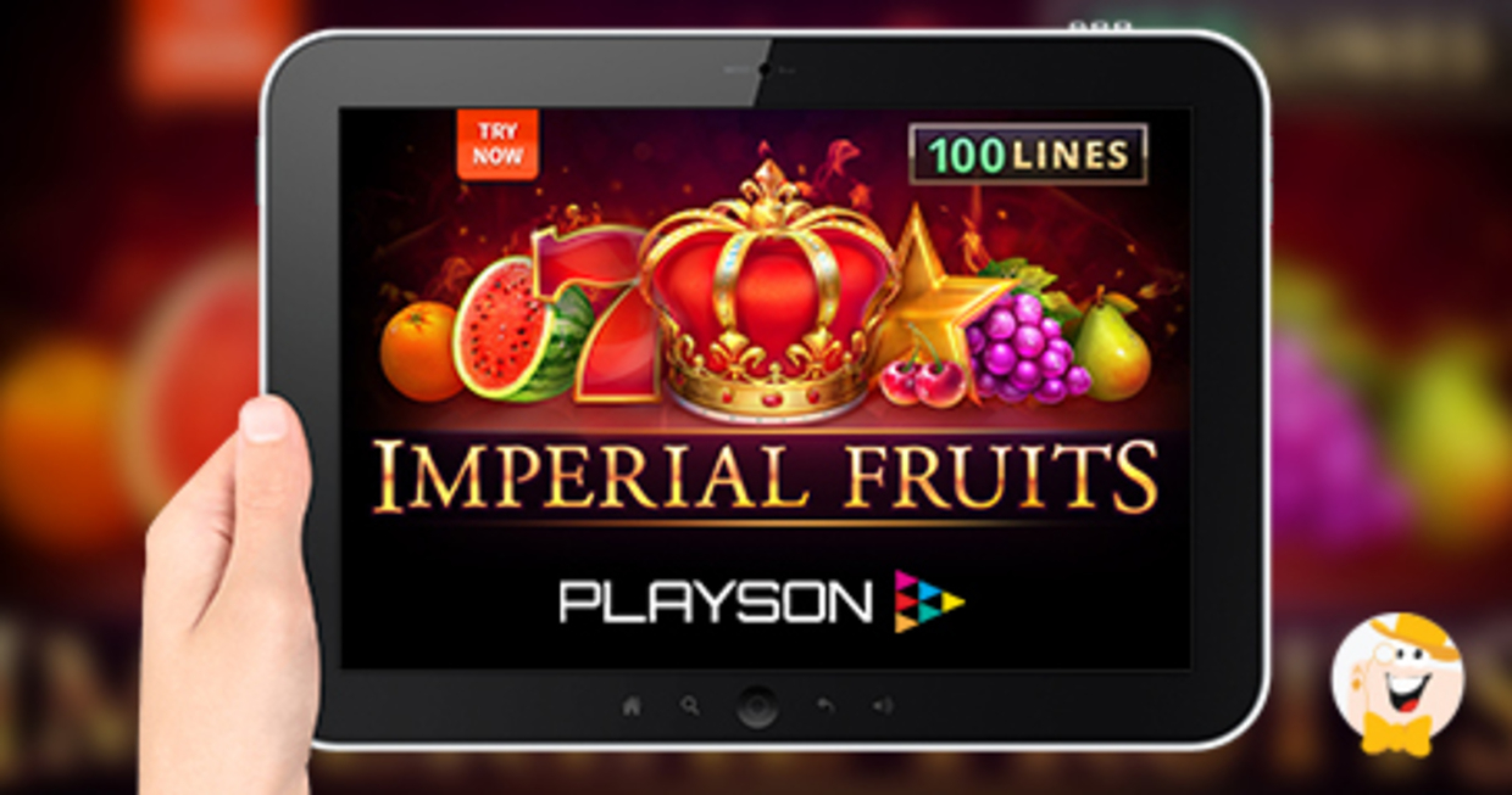 The Fruits & Jokers: 100 lines Online Slot Demo Game by Playson