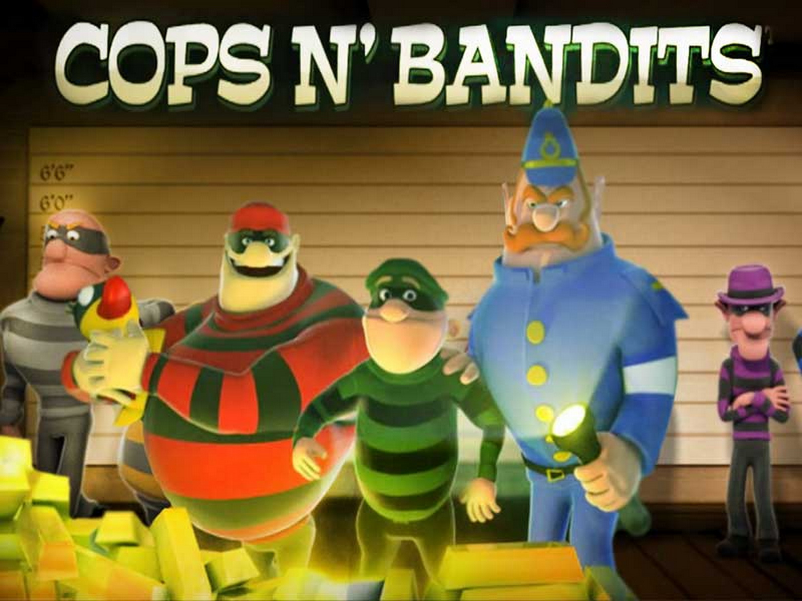 The Cops n Bandits Online Slot Demo Game by Playtech