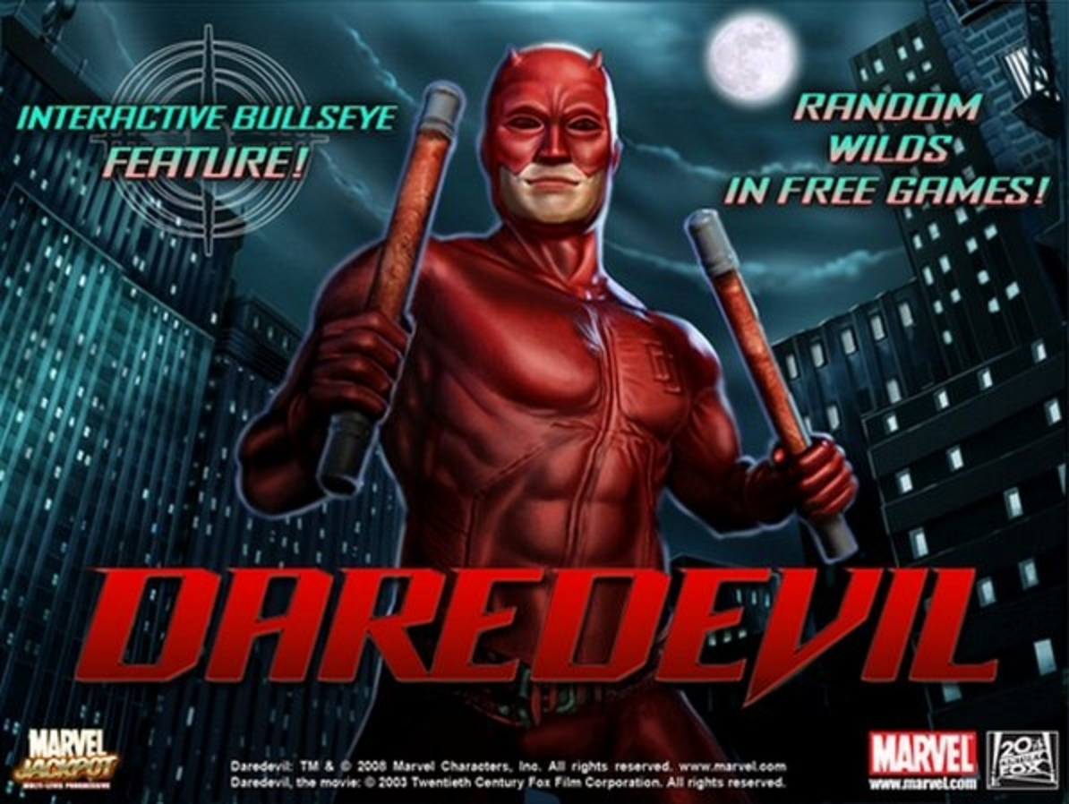 The DareDevil Online Slot Demo Game by Playtech