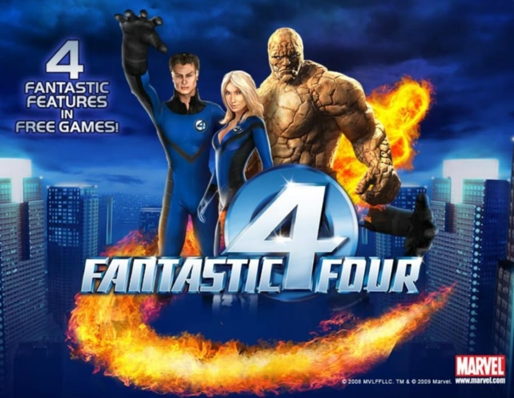 The Fantastic Four Online Slot Demo Game by Playtech