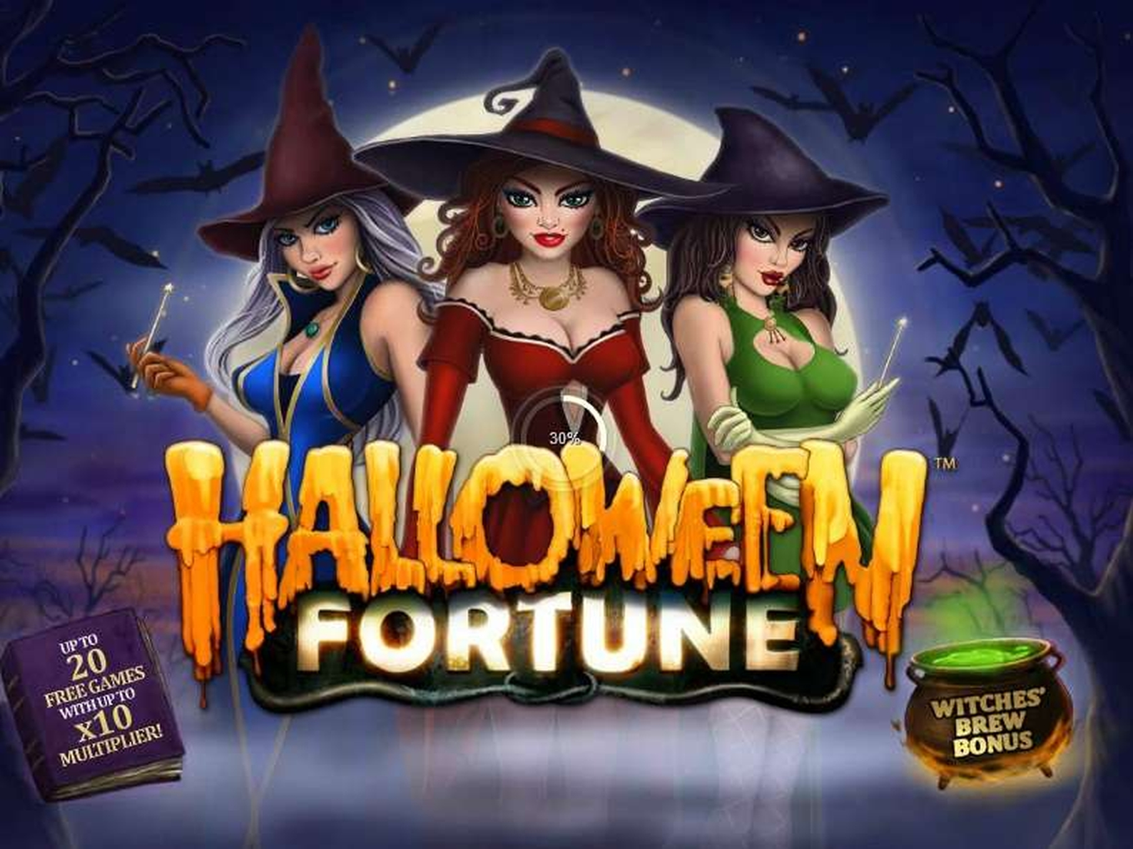 The Halloween Fortune Online Slot Demo Game by Playtech