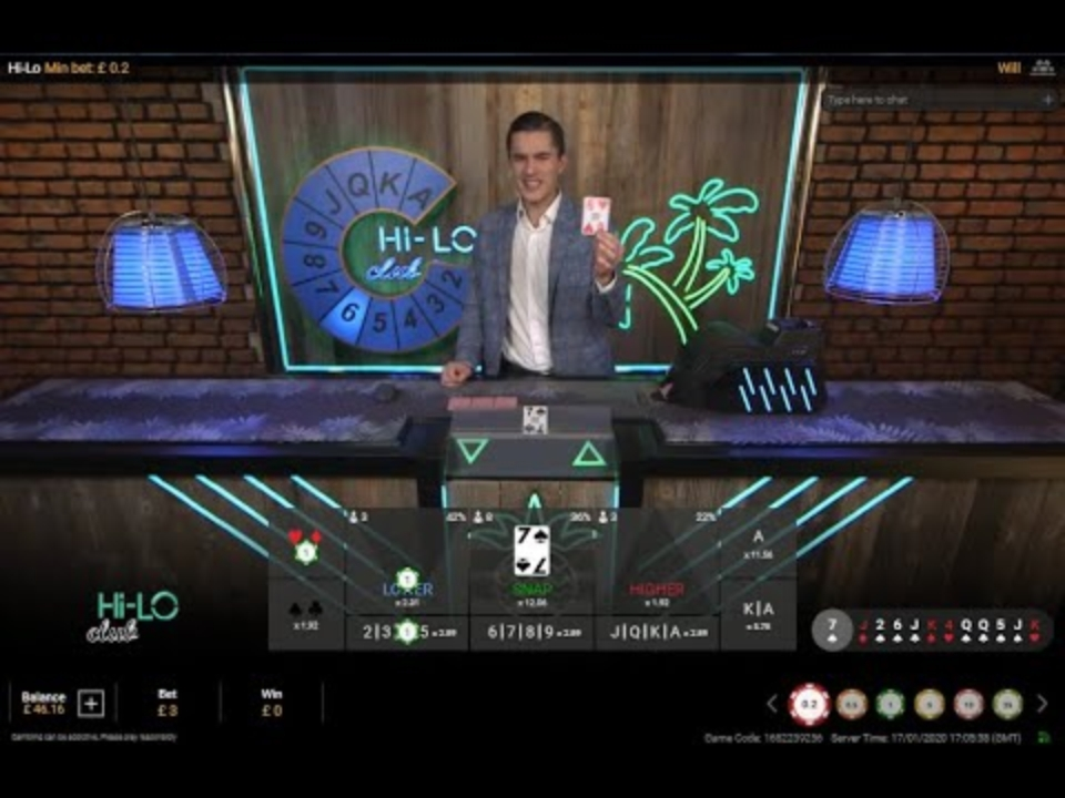 The Hi-Lo Club Online Slot Demo Game by Playtech