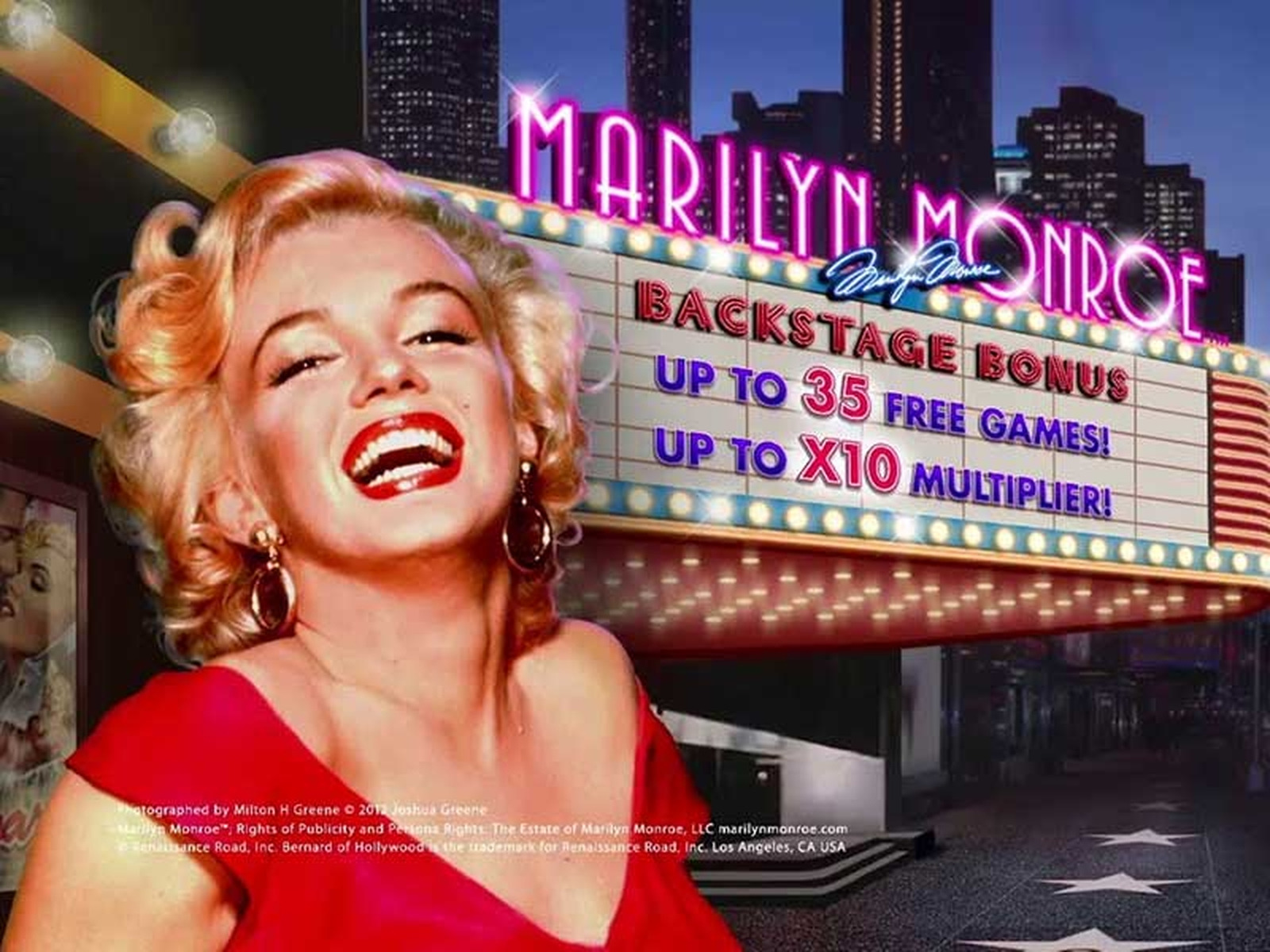The Marilyn Monroe Online Slot Demo Game by Playtech